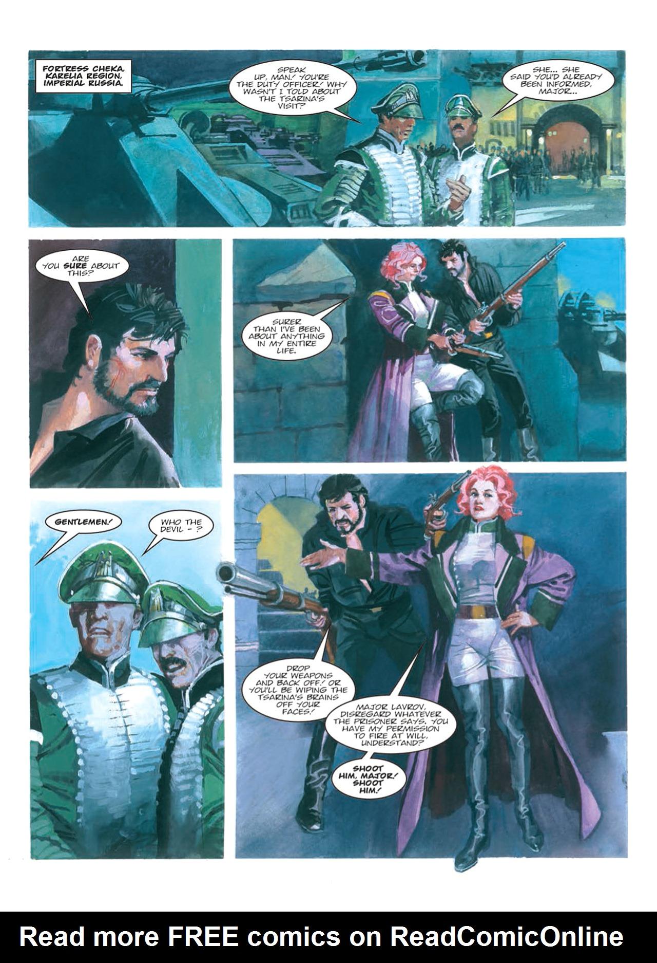 Read online Nikolai Dante comic -  Issue # TPB 9 - 98