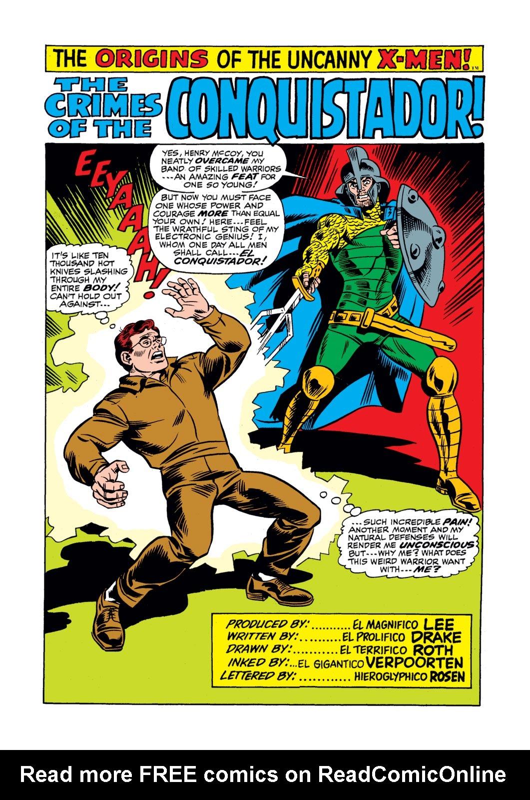 Read online Amazing Adventures (1970) comic -  Issue #17 - 19