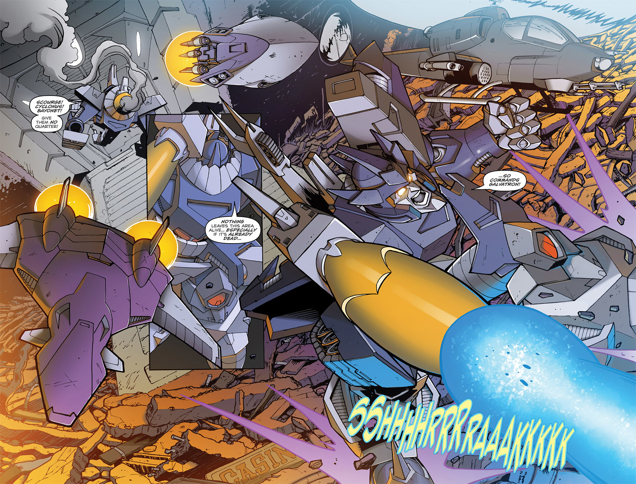 Read online Transformers: Infestation comic -  Issue #1 - 8
