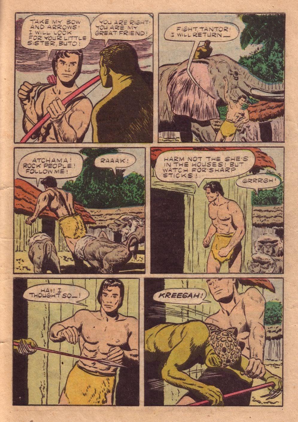 Tarzan (1948) issue 40 - Page 39