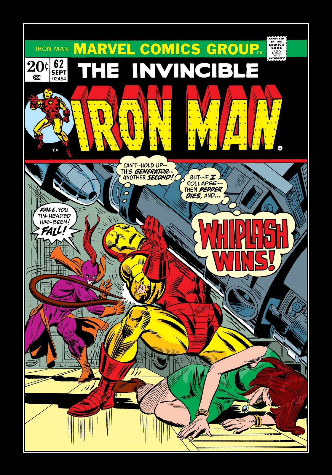 Read online Marvel Masterworks: The Invincible Iron Man comic -  Issue # TPB 9 (Part 2) - 74