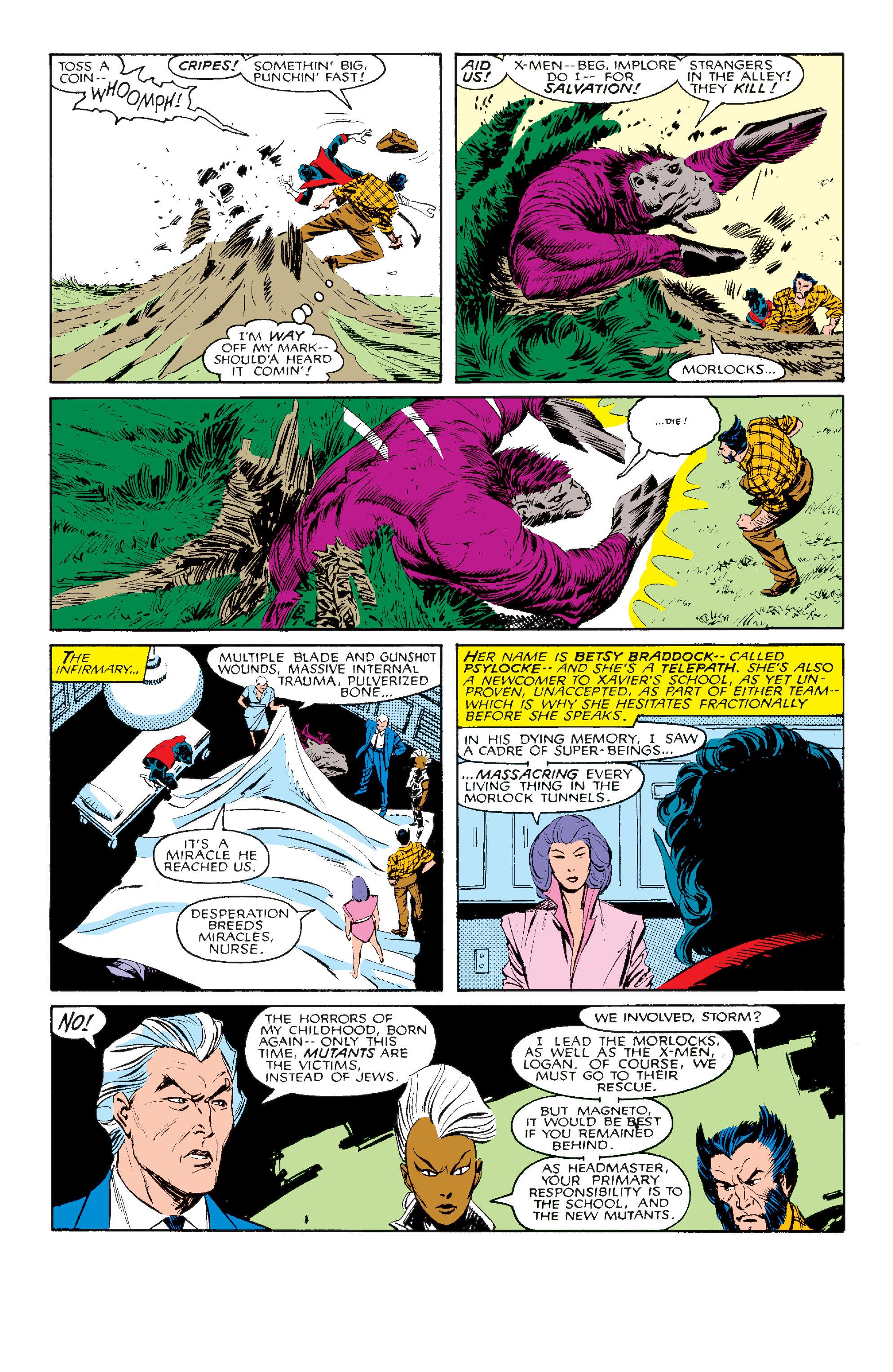 Read online Uncanny X-Men (1963) comic -  Issue #211 - 10