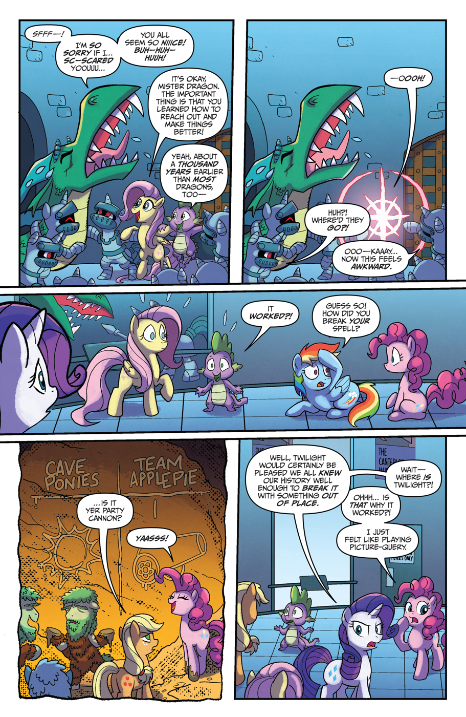 Read online My Little Pony: Friendship is Magic comic -  Issue #53 - 16