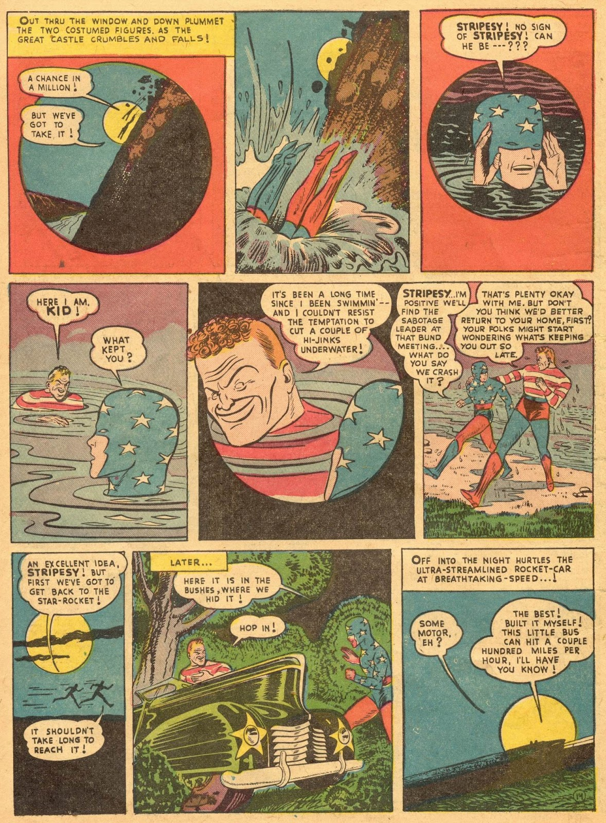 Star Spangled Comics (1941) issue 1 - Page 16