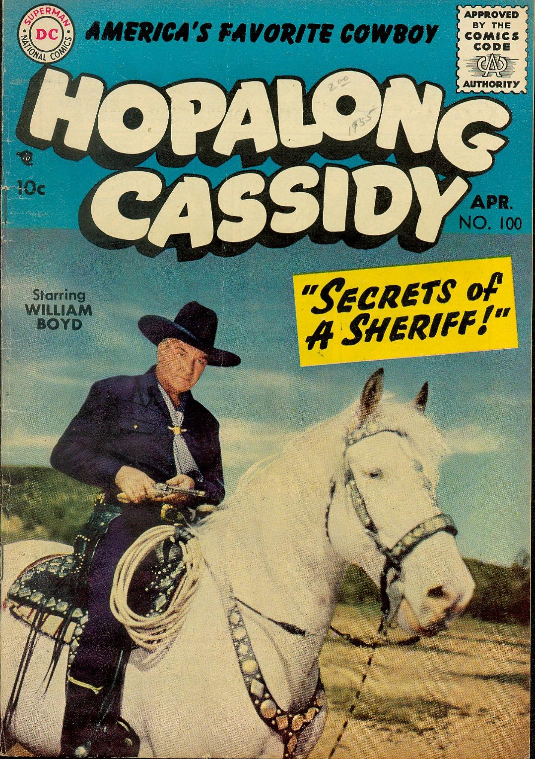 Hopalong Cassidy issue 100 - Page 1