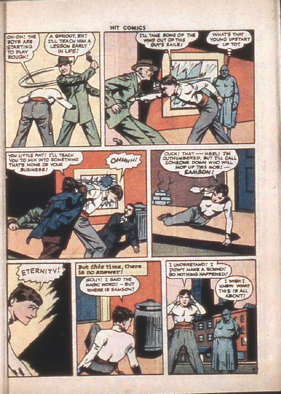 Read online Hit Comics comic -  Issue #37 - 9