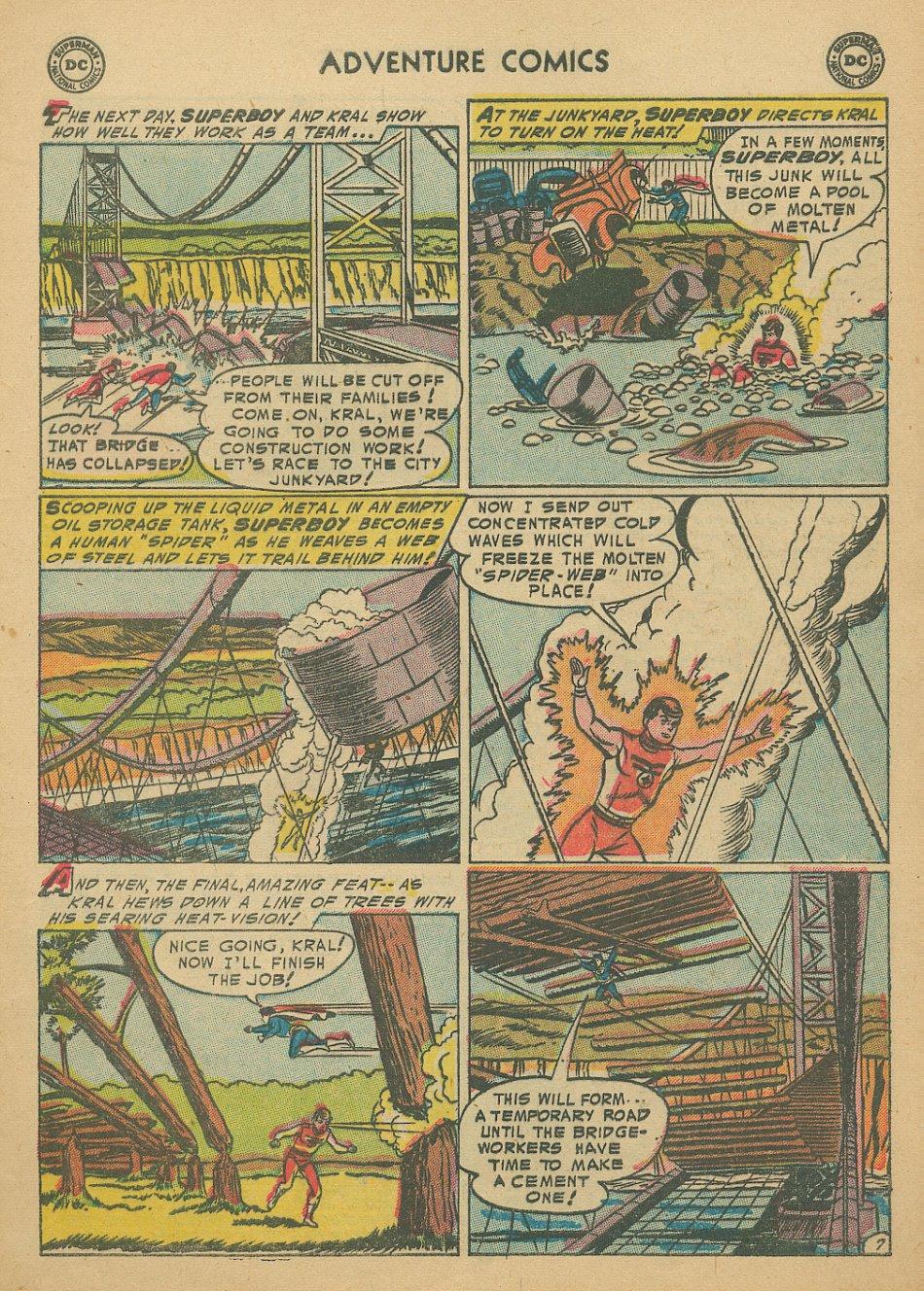Read online Adventure Comics (1938) comic -  Issue #205 - 10