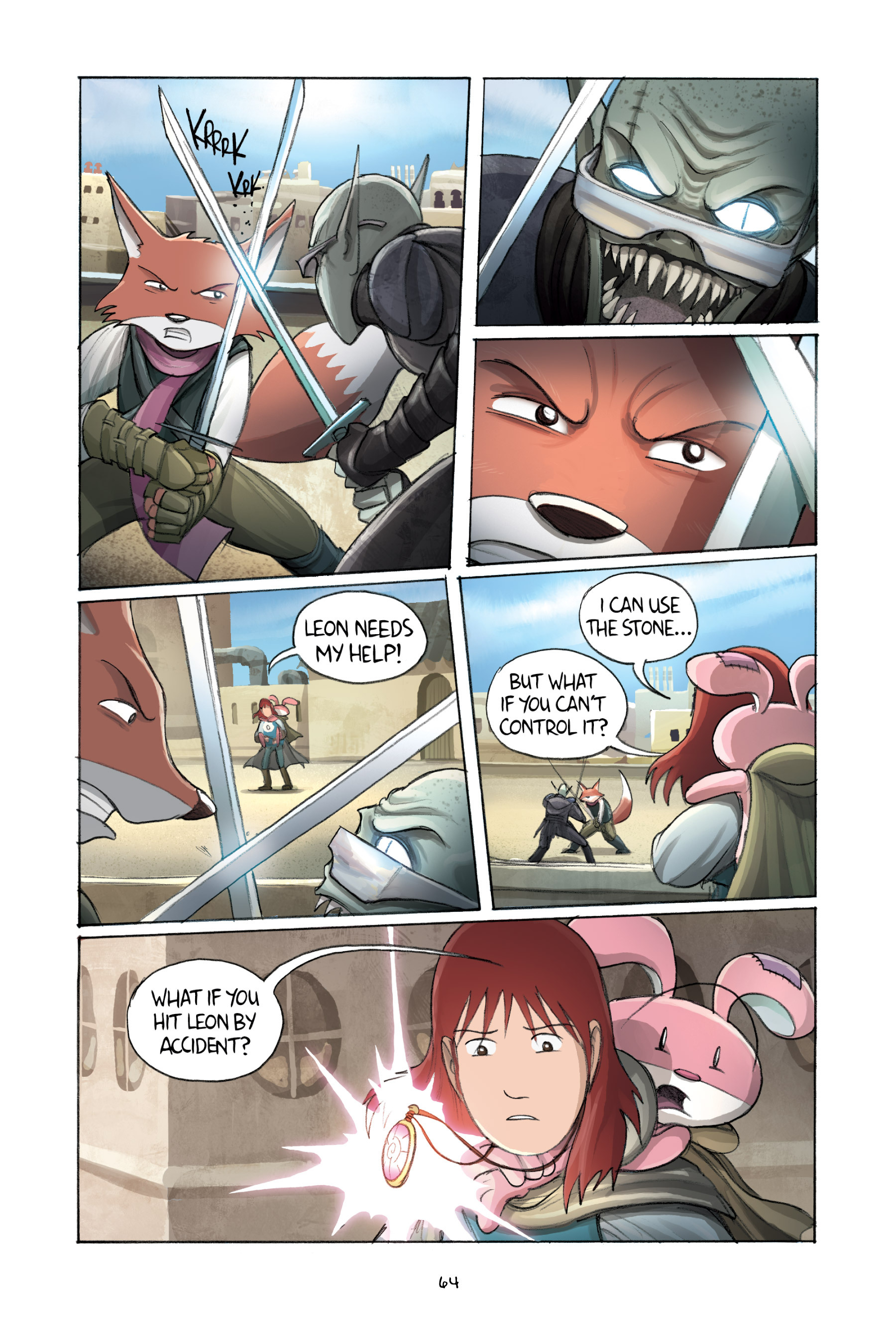 Read online Amulet comic -  Issue #2 - 66