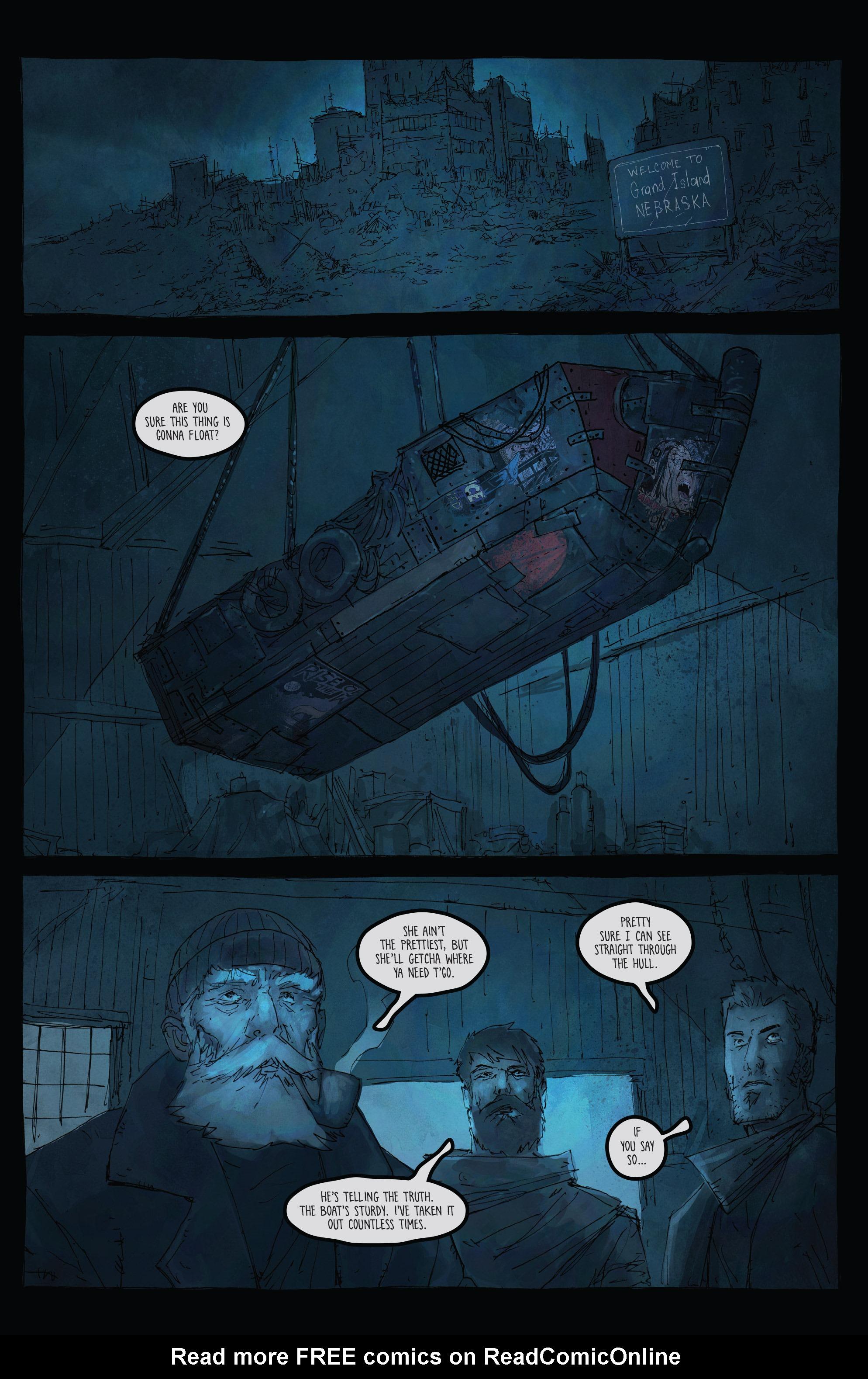 Read online Broken Moon: Legends of the Deep comic -  Issue #5 - 3