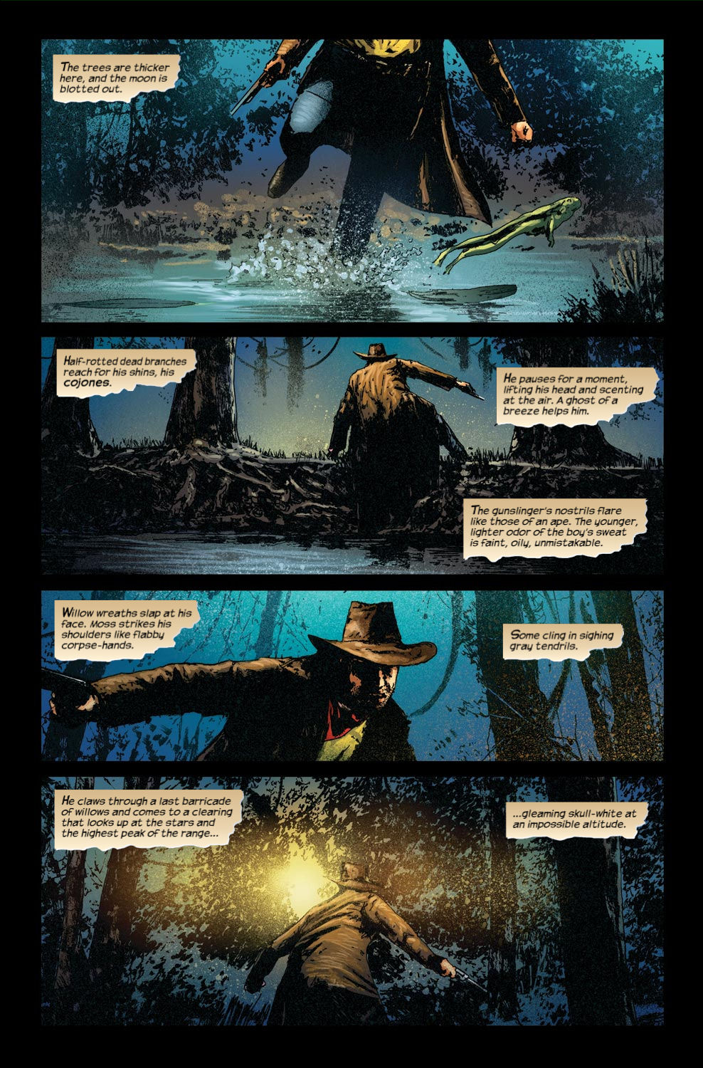 Read online Dark Tower: The Gunslinger - The Way Station comic -  Issue #4 - 20