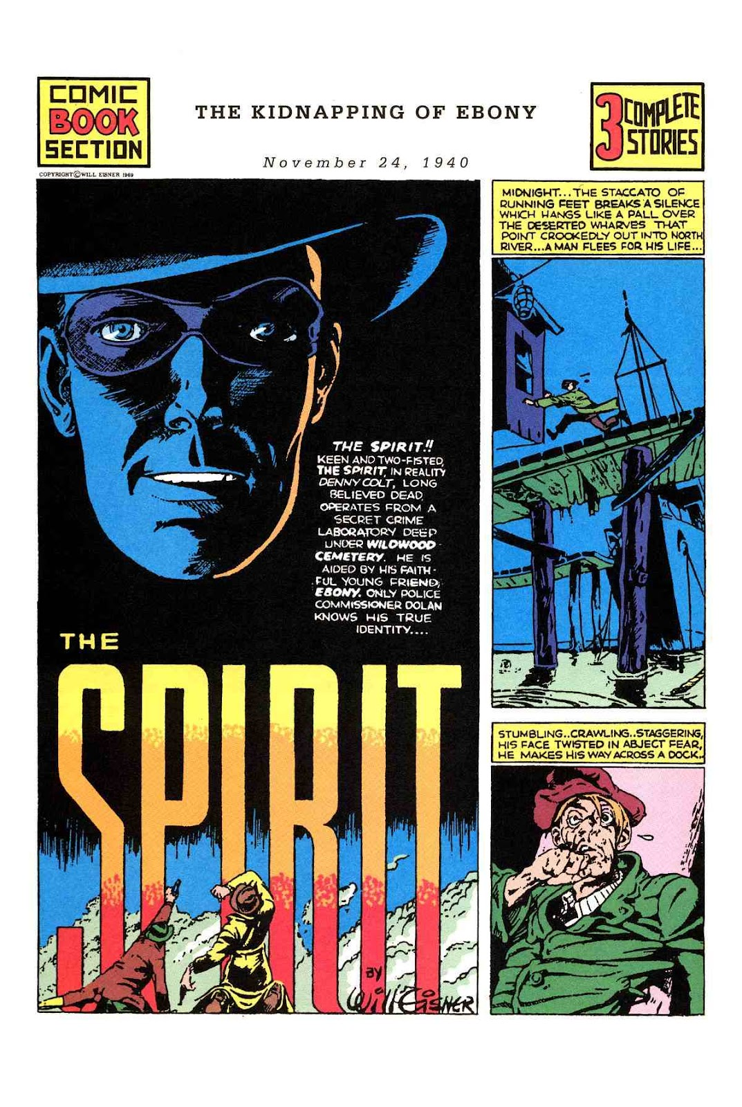 Read online Will Eisner's The Spirit Archives comic -  Issue # TPB 1 (Part 2) - 77