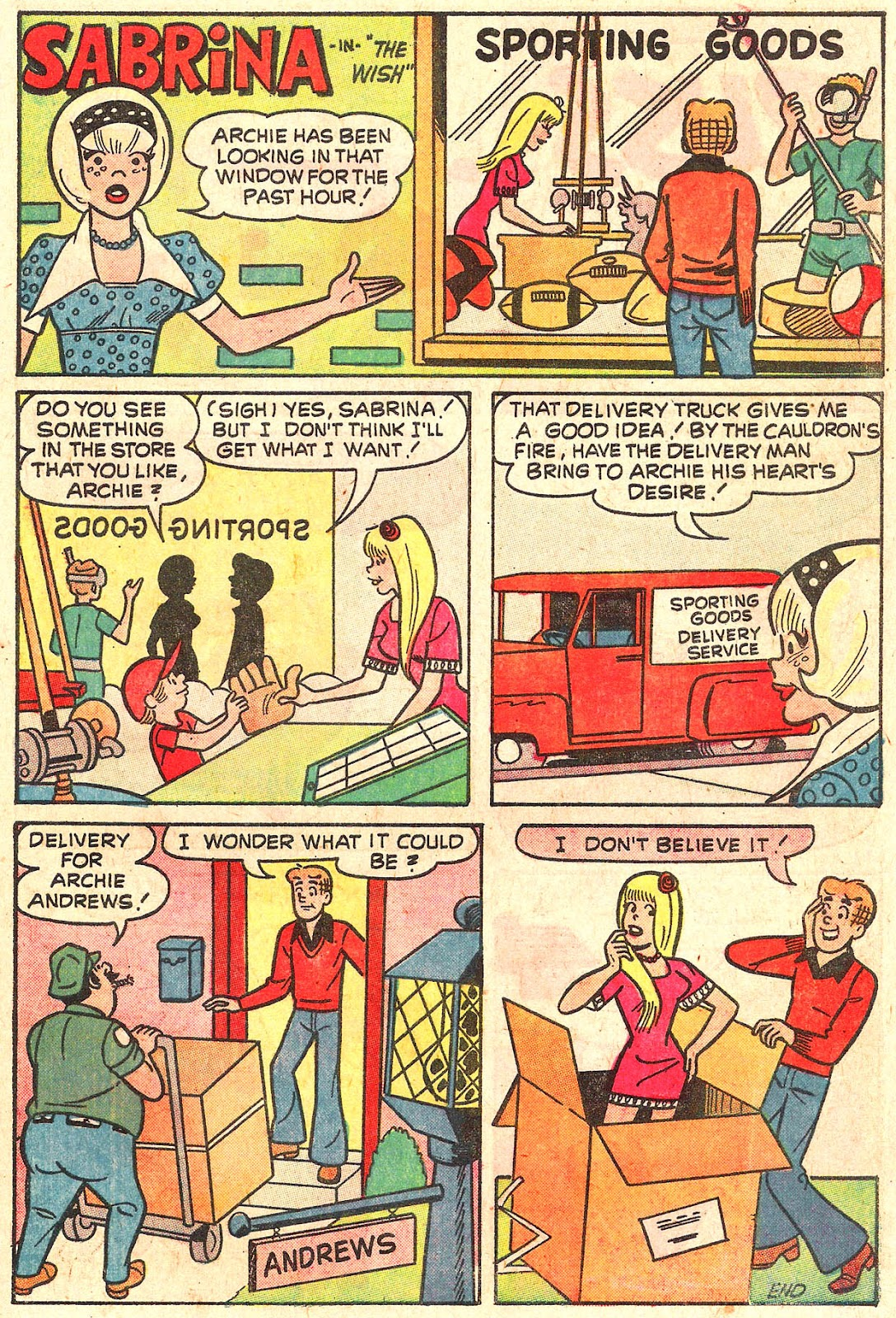 Sabrina The Teenage Witch (1971) Issue #16 #16 - English 31