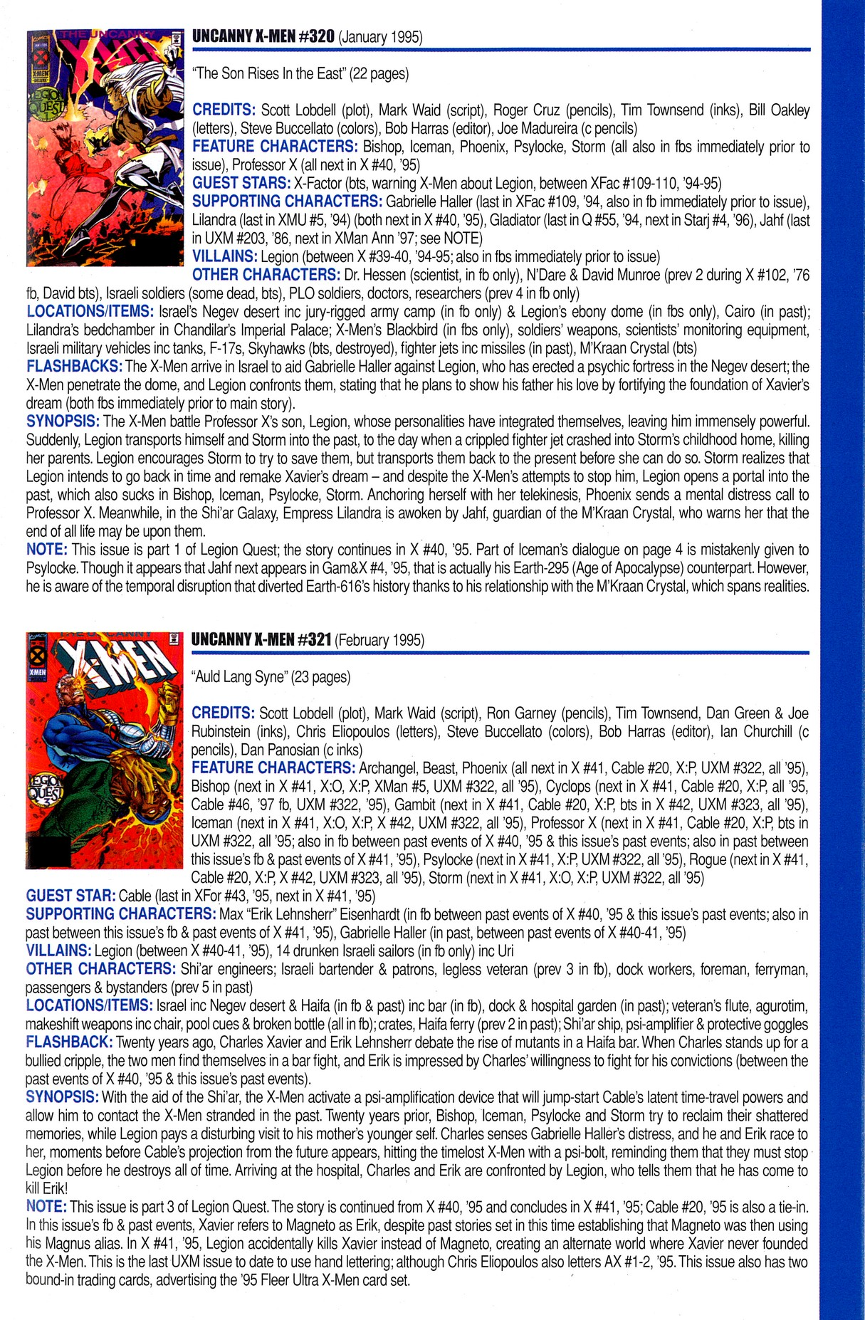 Read online Official Index to the Marvel Universe comic -  Issue #8 - 55