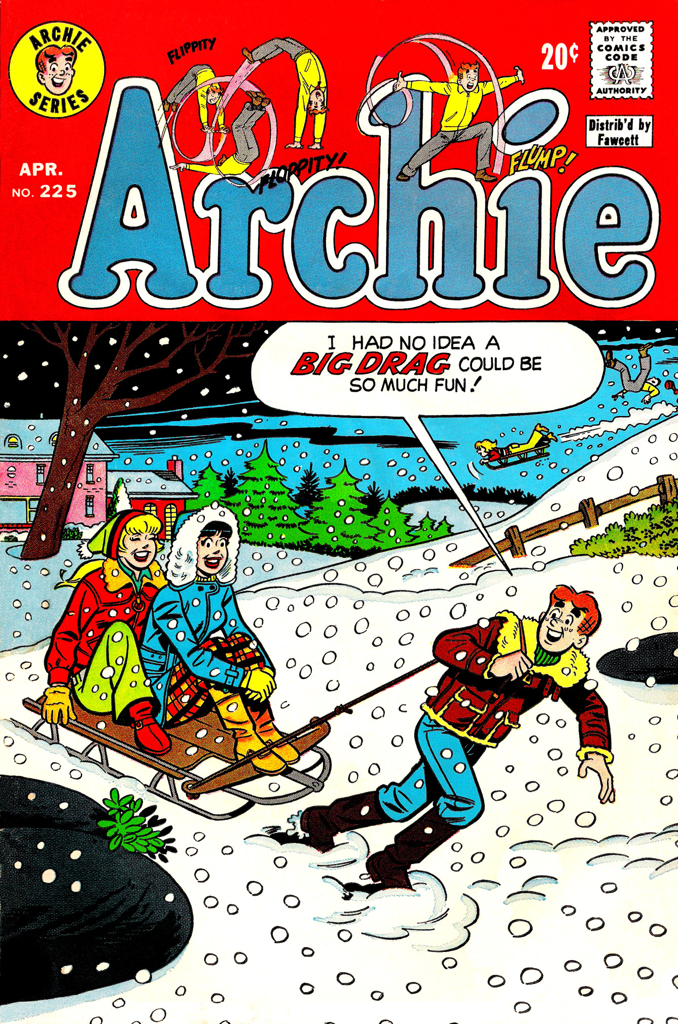 Read online Archie (1960) comic -  Issue #225 - 1