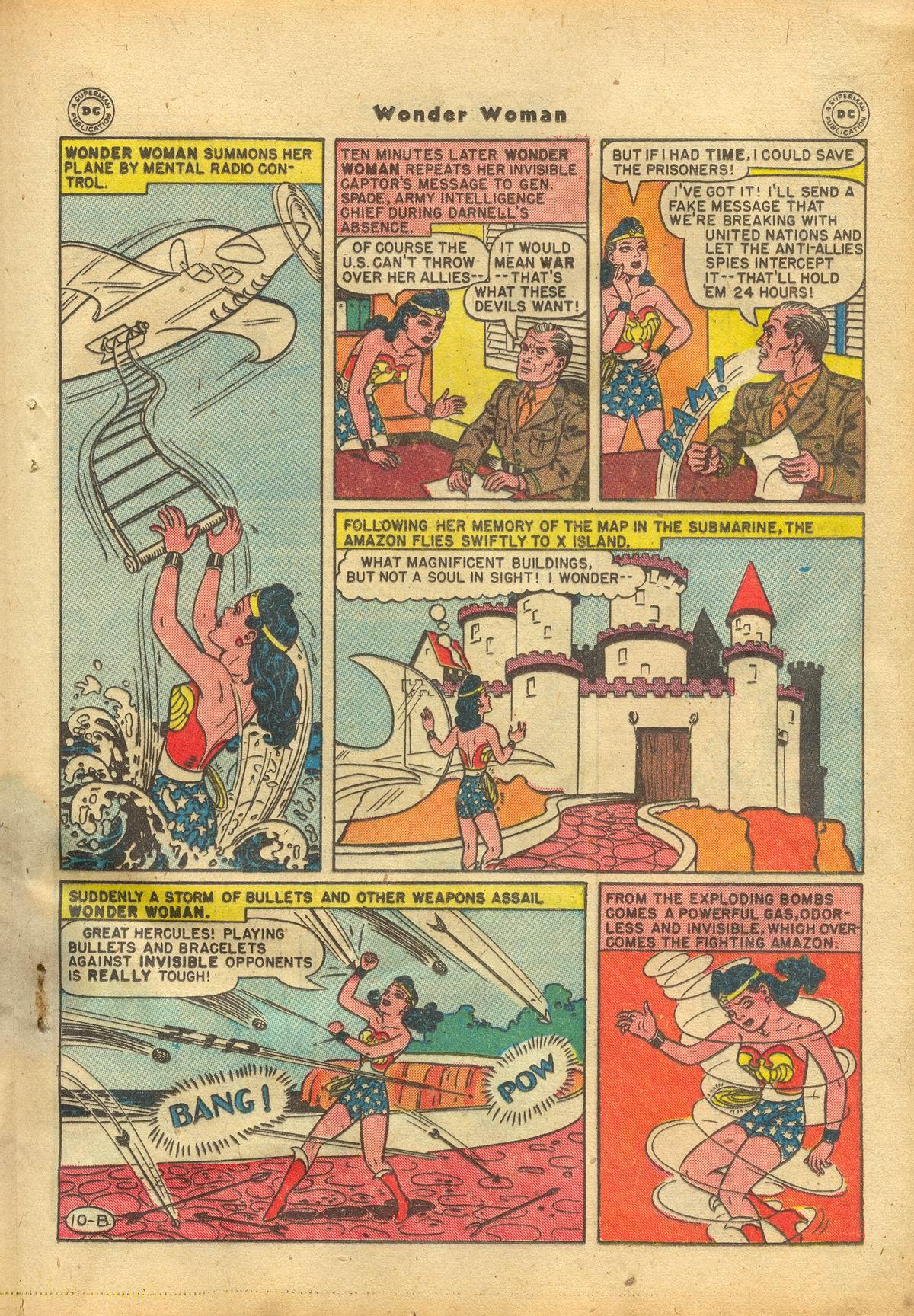 Read online Wonder Woman (1942) comic -  Issue #22 - 29