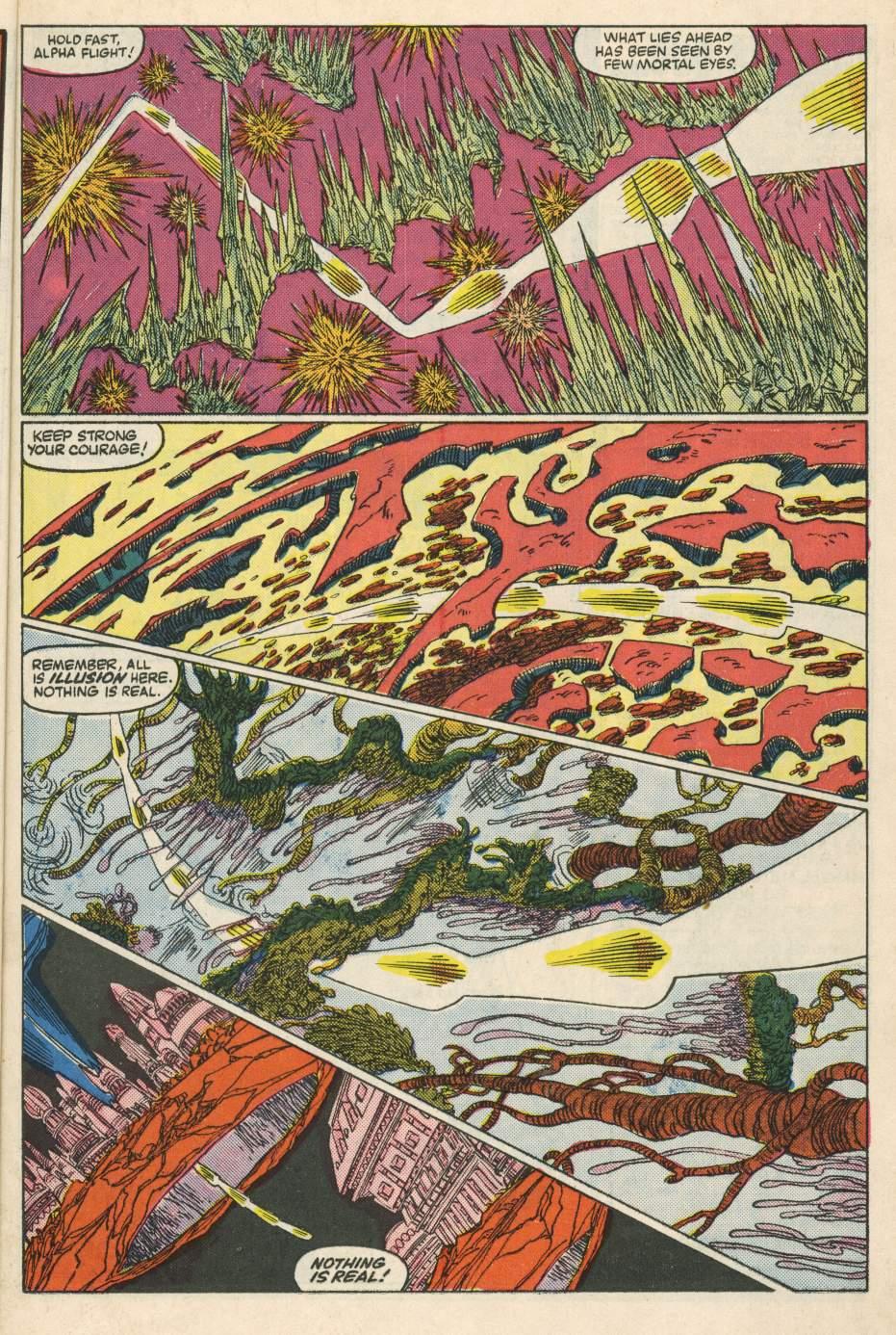 Read online Alpha Flight (1983) comic -  Issue #24 - 9