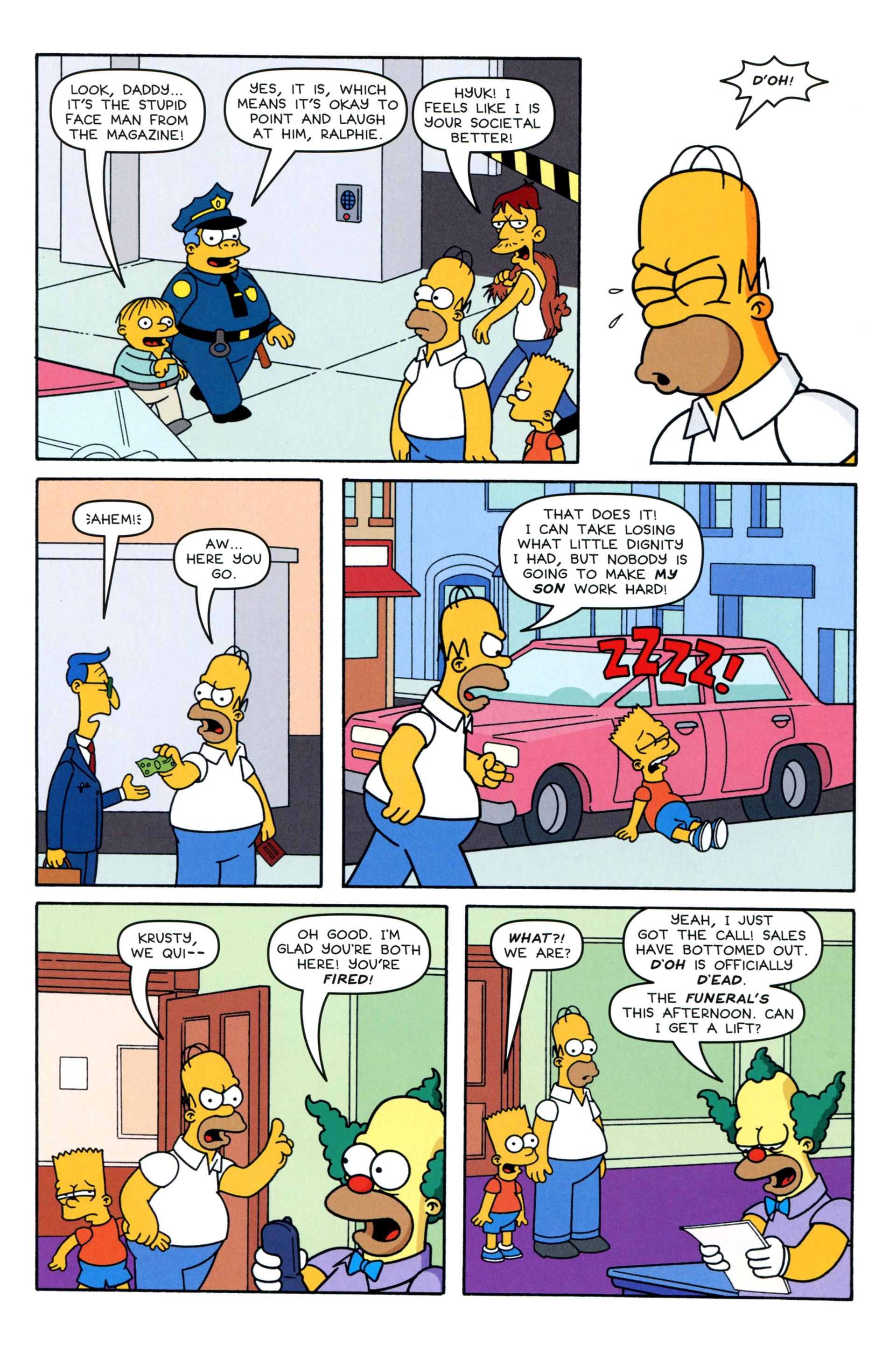 Read online Simpsons Comics comic -  Issue #203 - 16