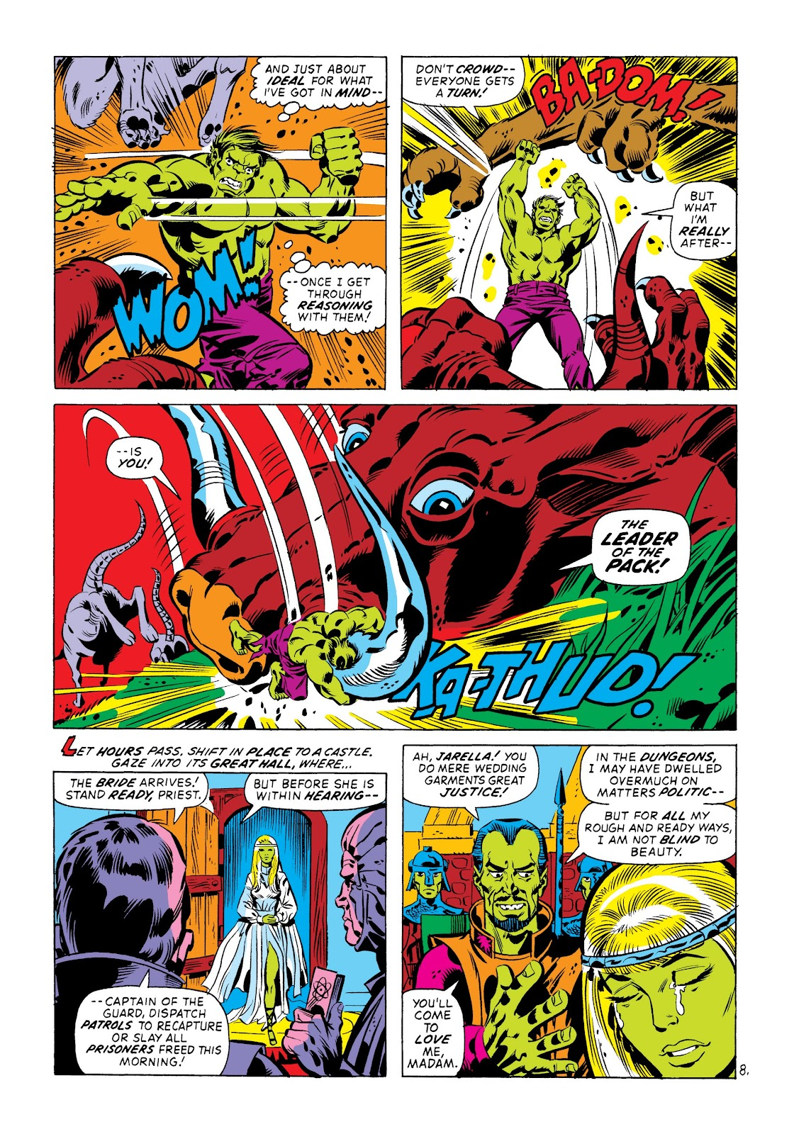 Read online Marvel Masterworks: The Incredible Hulk comic -  Issue # TPB 8 (Part 3) - 69