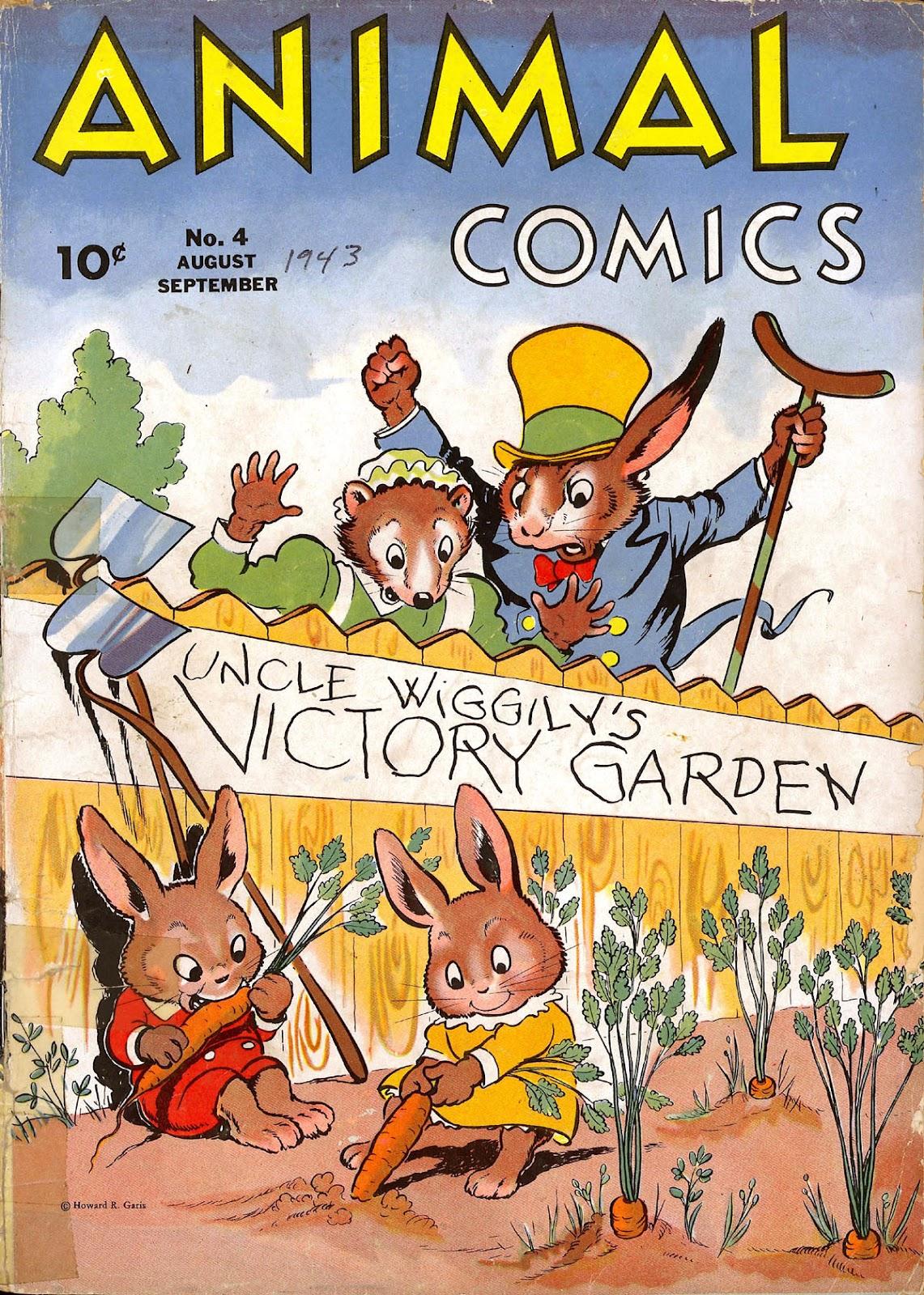 Read online Animal Comics comic -  Issue #4 - 2