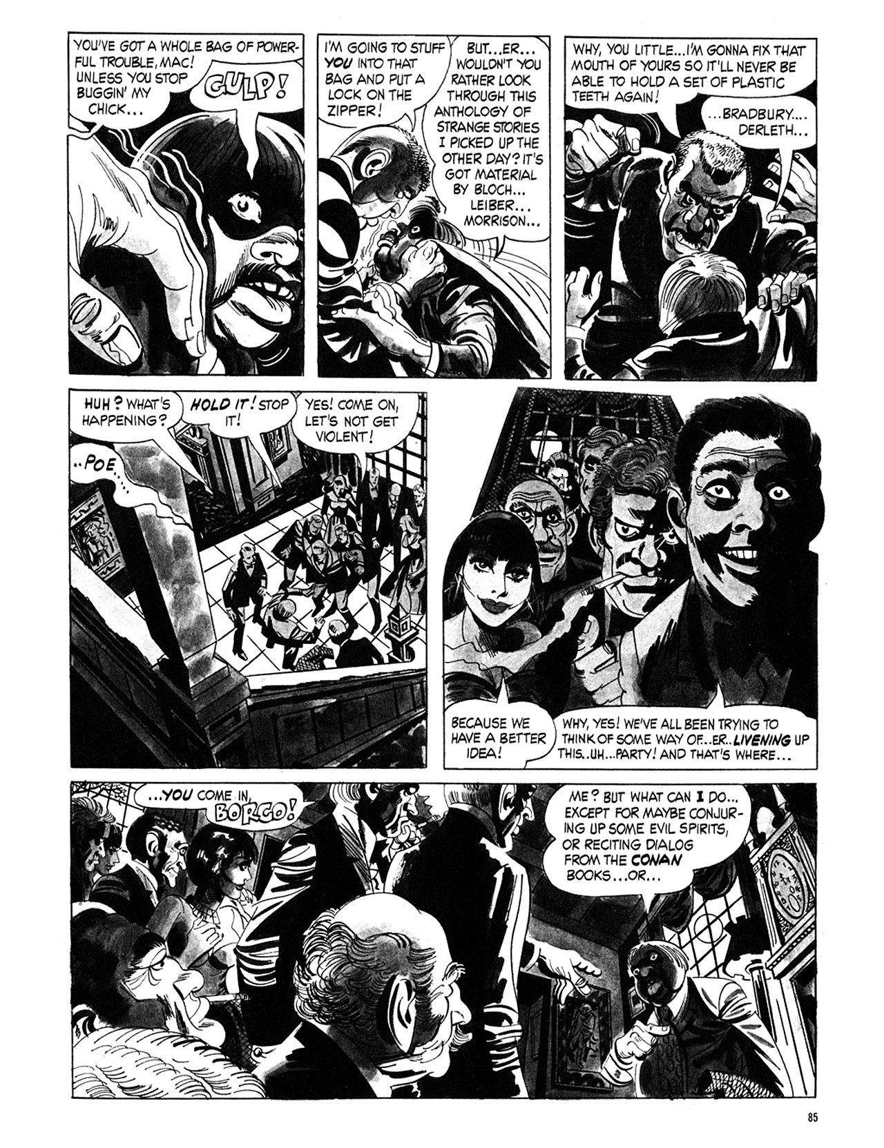 Read online Eerie Archives comic -  Issue # TPB 5 - 86