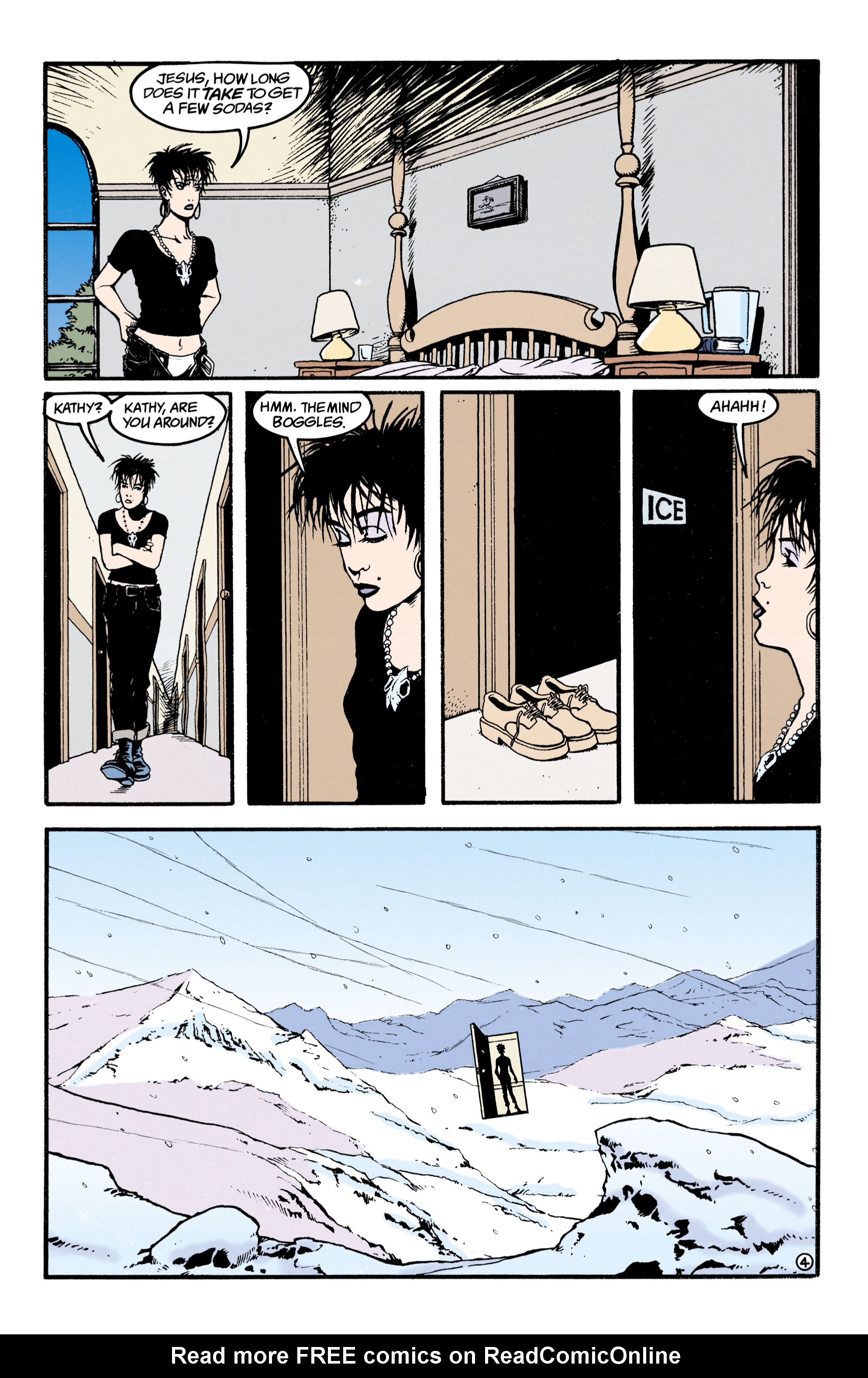 Read online Shade, the Changing Man comic -  Issue #34 - 4