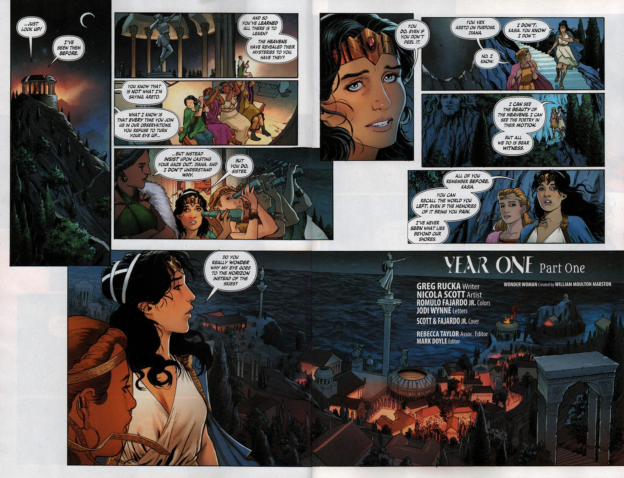 Read online Free Comic Book Day 2017 comic -  Issue # Wonder Woman 1 - 3