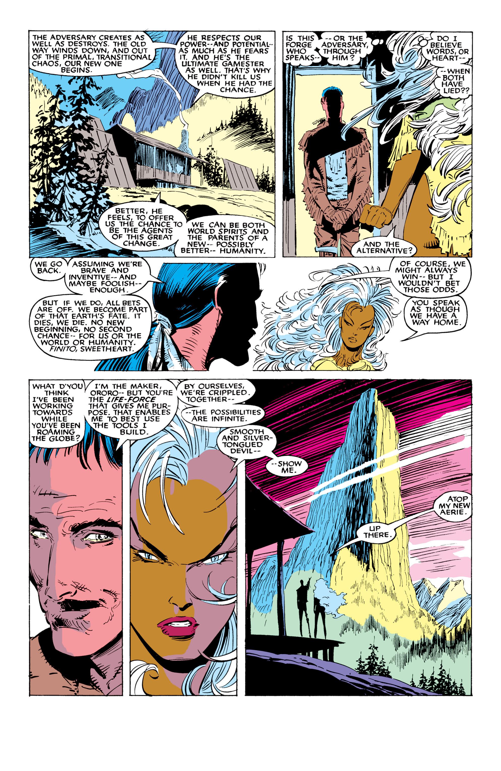 Read online Uncanny X-Men (1963) comic -  Issue #226 - 32
