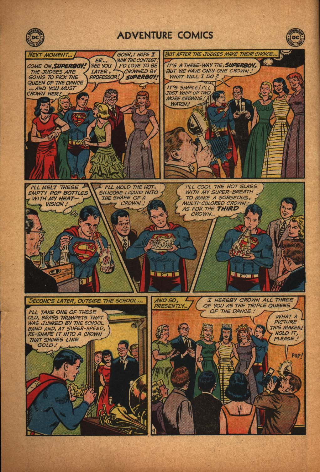 Read online Adventure Comics (1938) comic -  Issue #291 - 6
