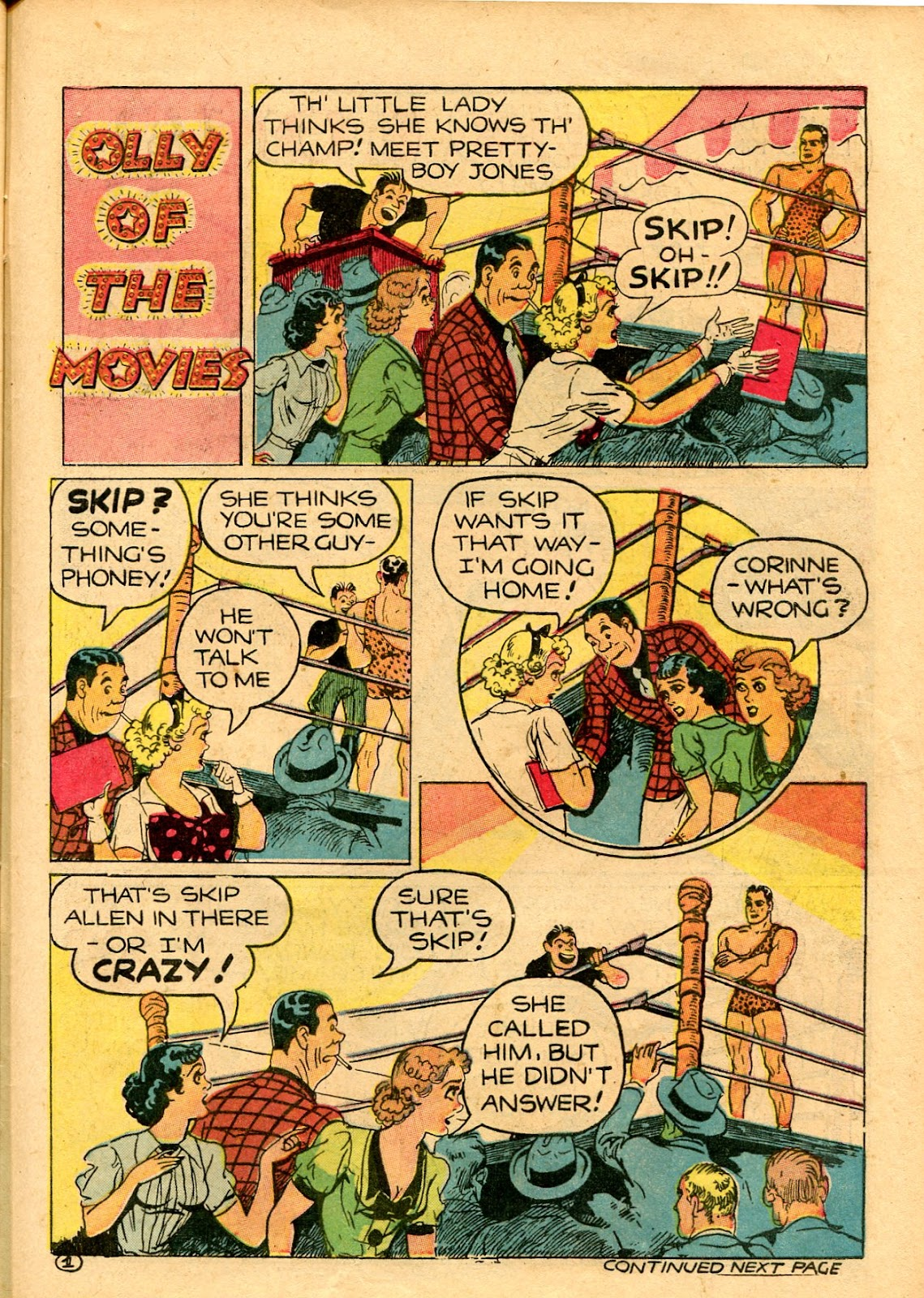 Read online Famous Funnies comic -  Issue #101 - 57