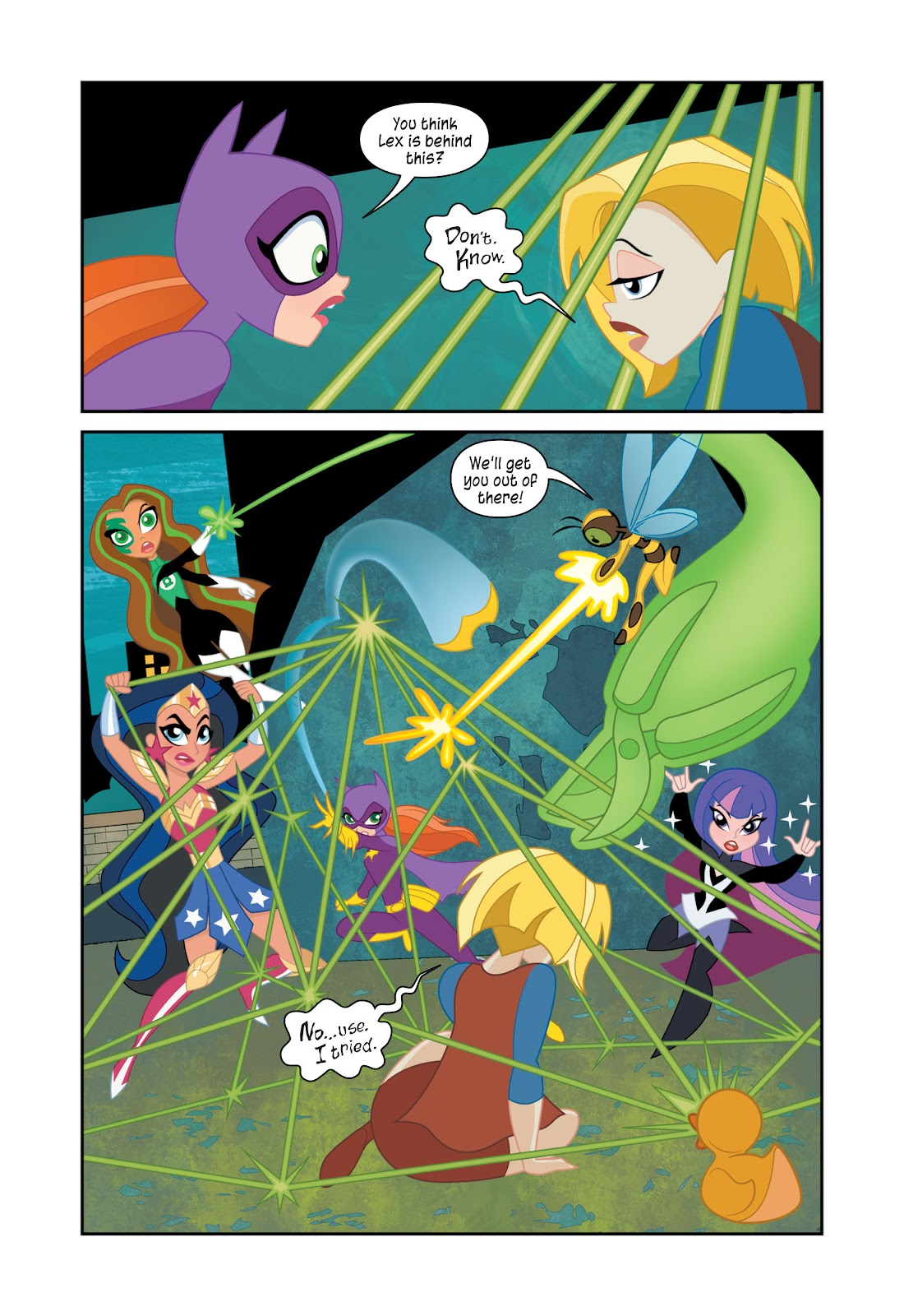Read online DC Super Hero Girls: At Metropolis High comic -  Issue # TPB - 105