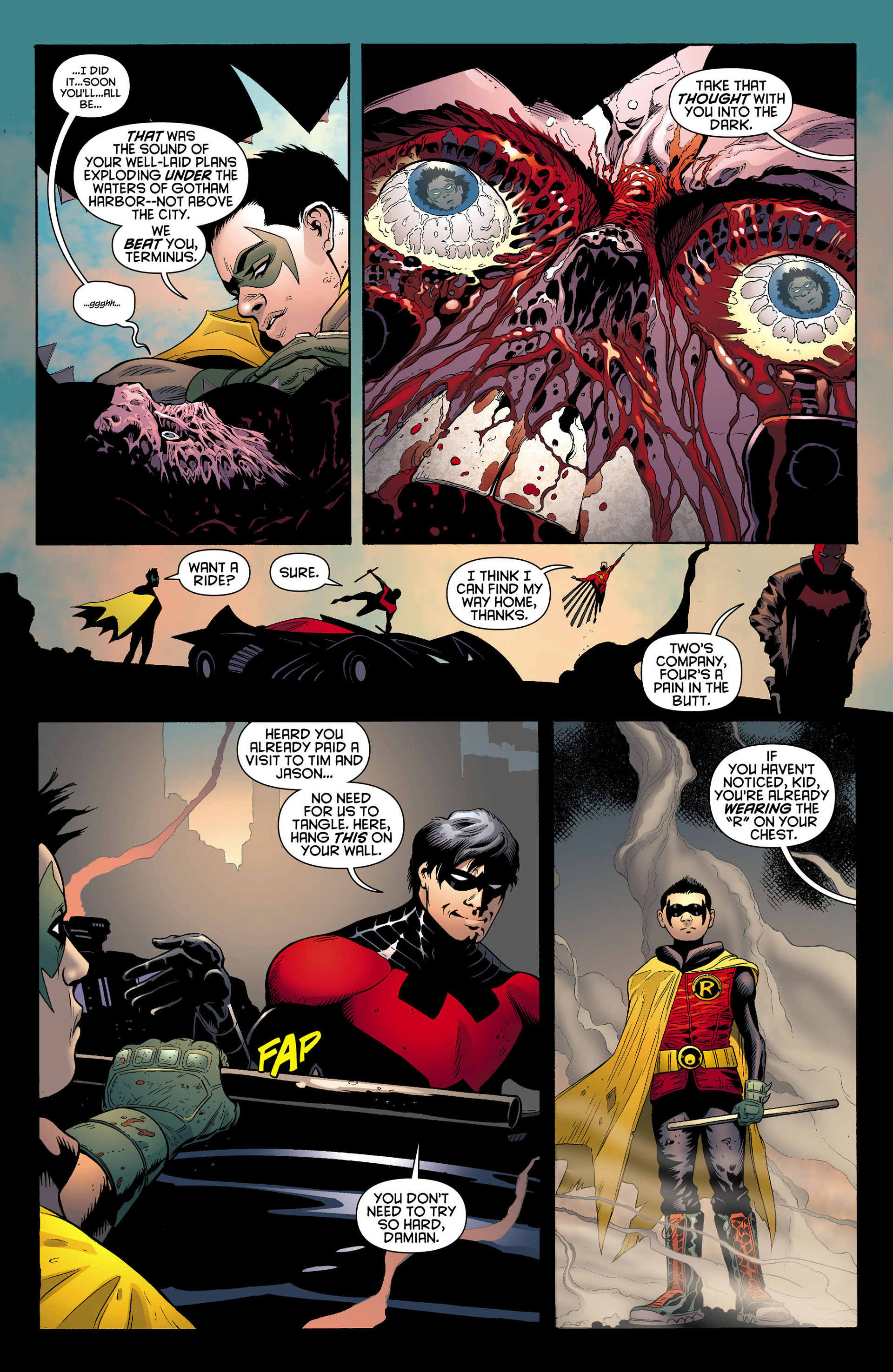 Read online Batman and Robin (2011) comic -  Issue #12 - 17