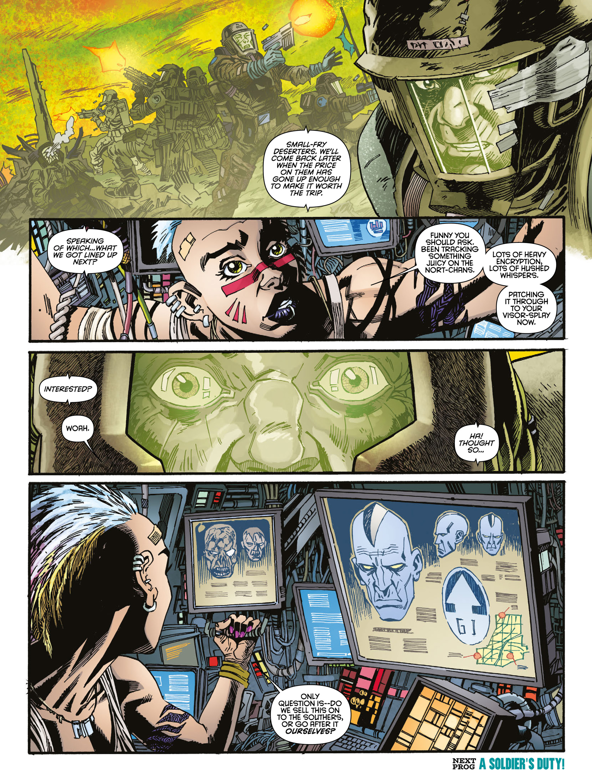 Read online 2000 AD comic -  Issue #2004 - 19