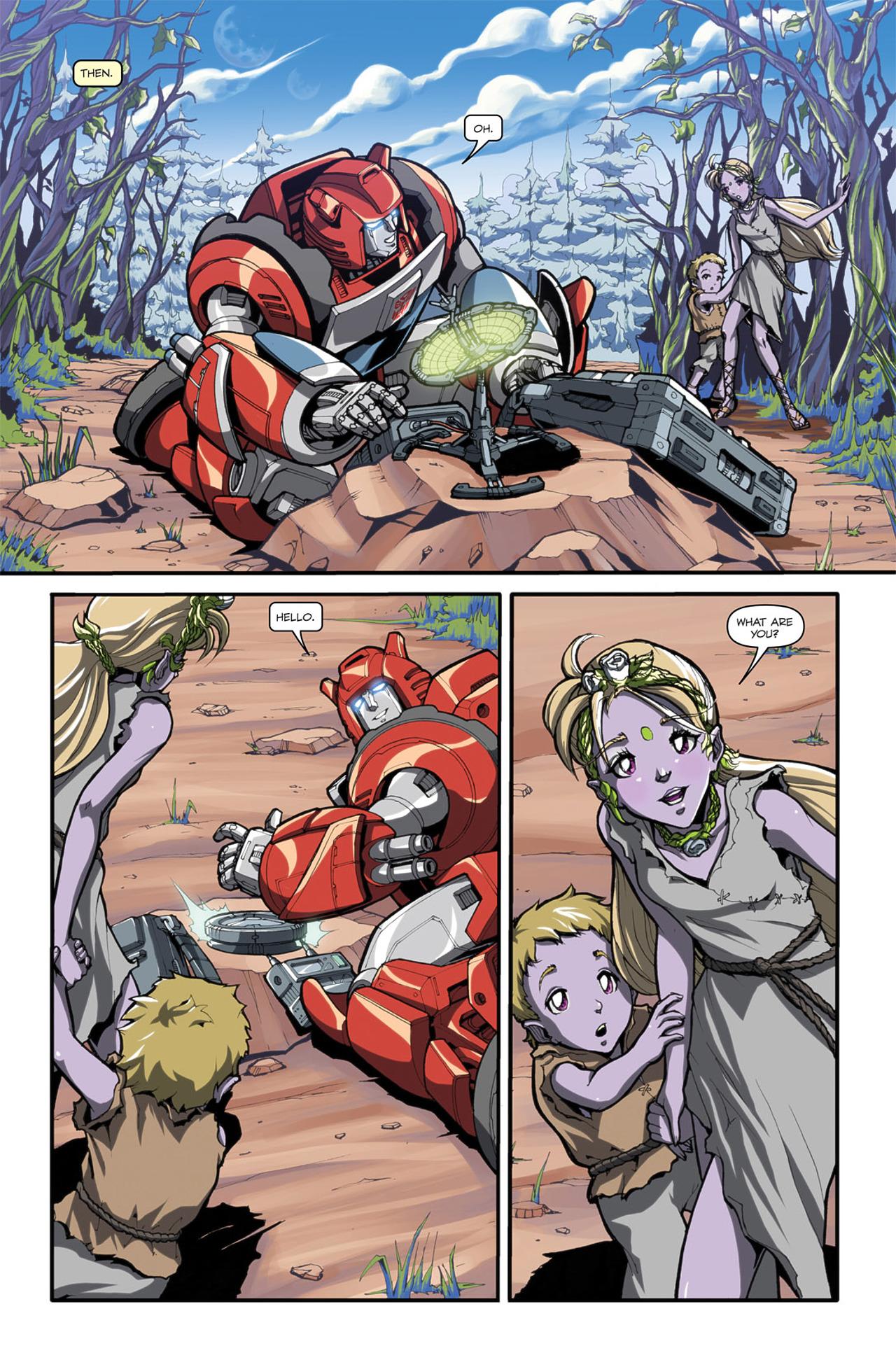 Read online Transformers Spotlight: Cliffjumper comic -  Issue # Full - 6