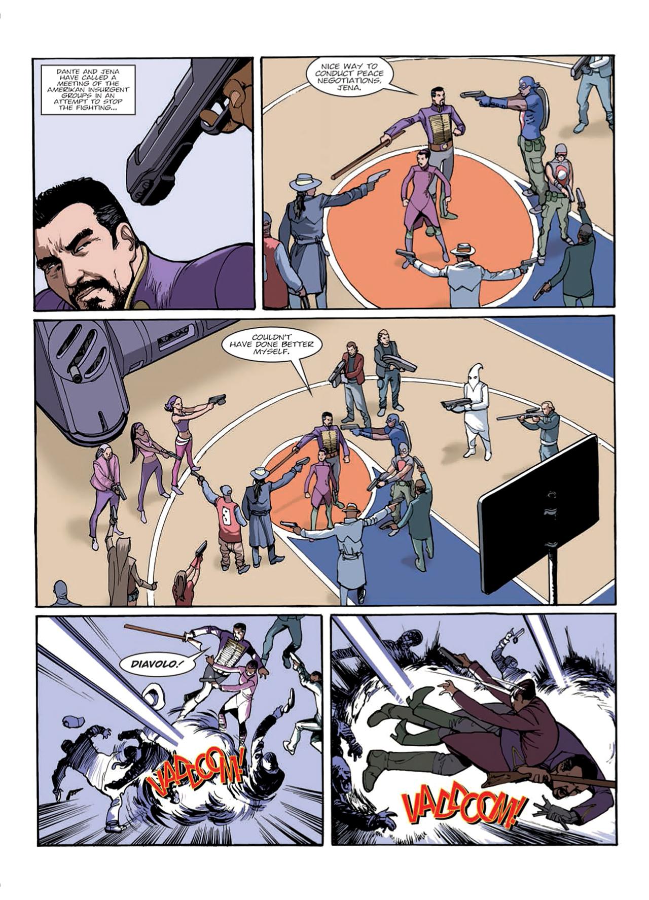 Read online Nikolai Dante comic -  Issue # TPB 9 - 42