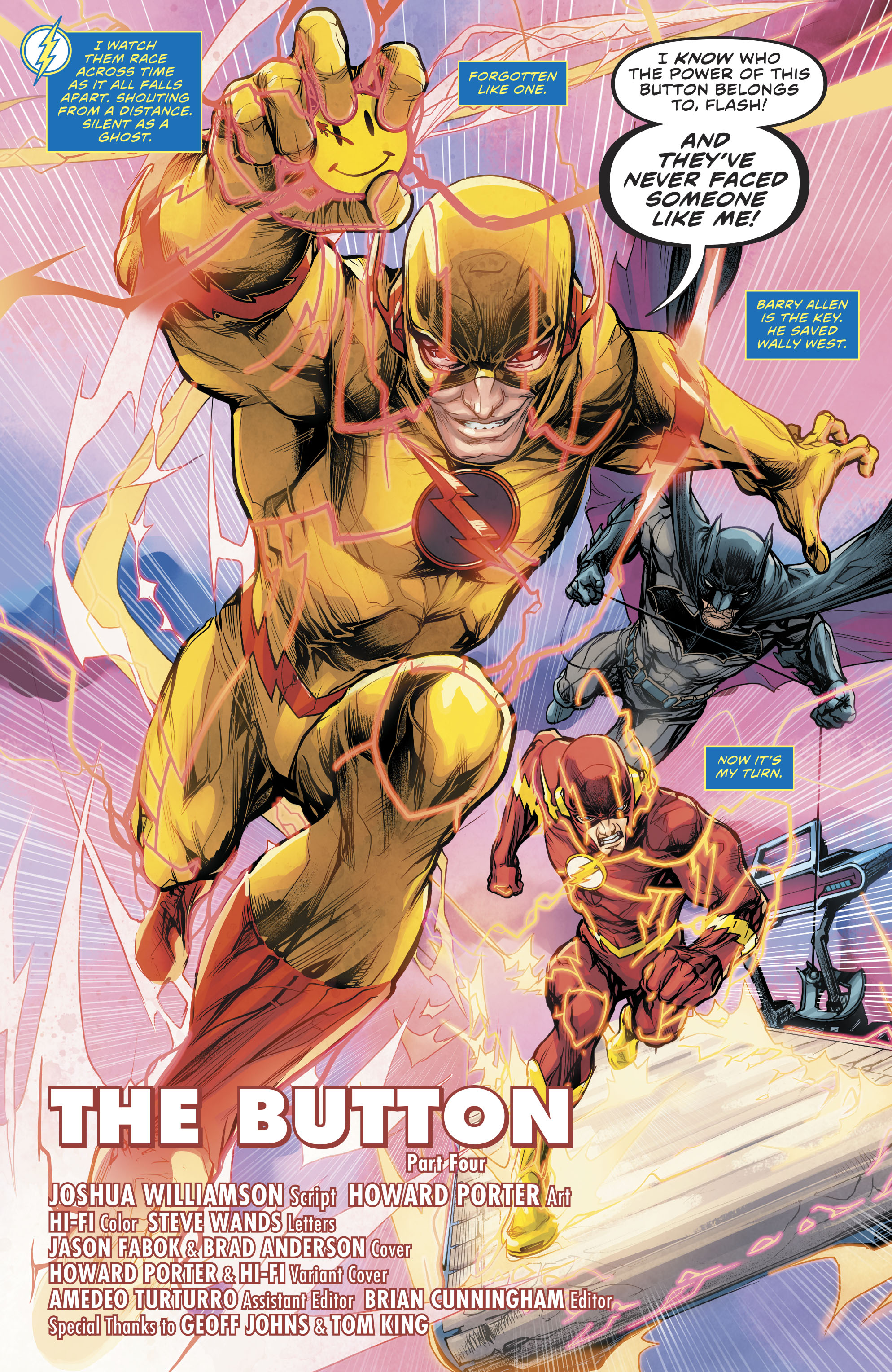 Read online The Flash (2016) comic -  Issue #22 - 4