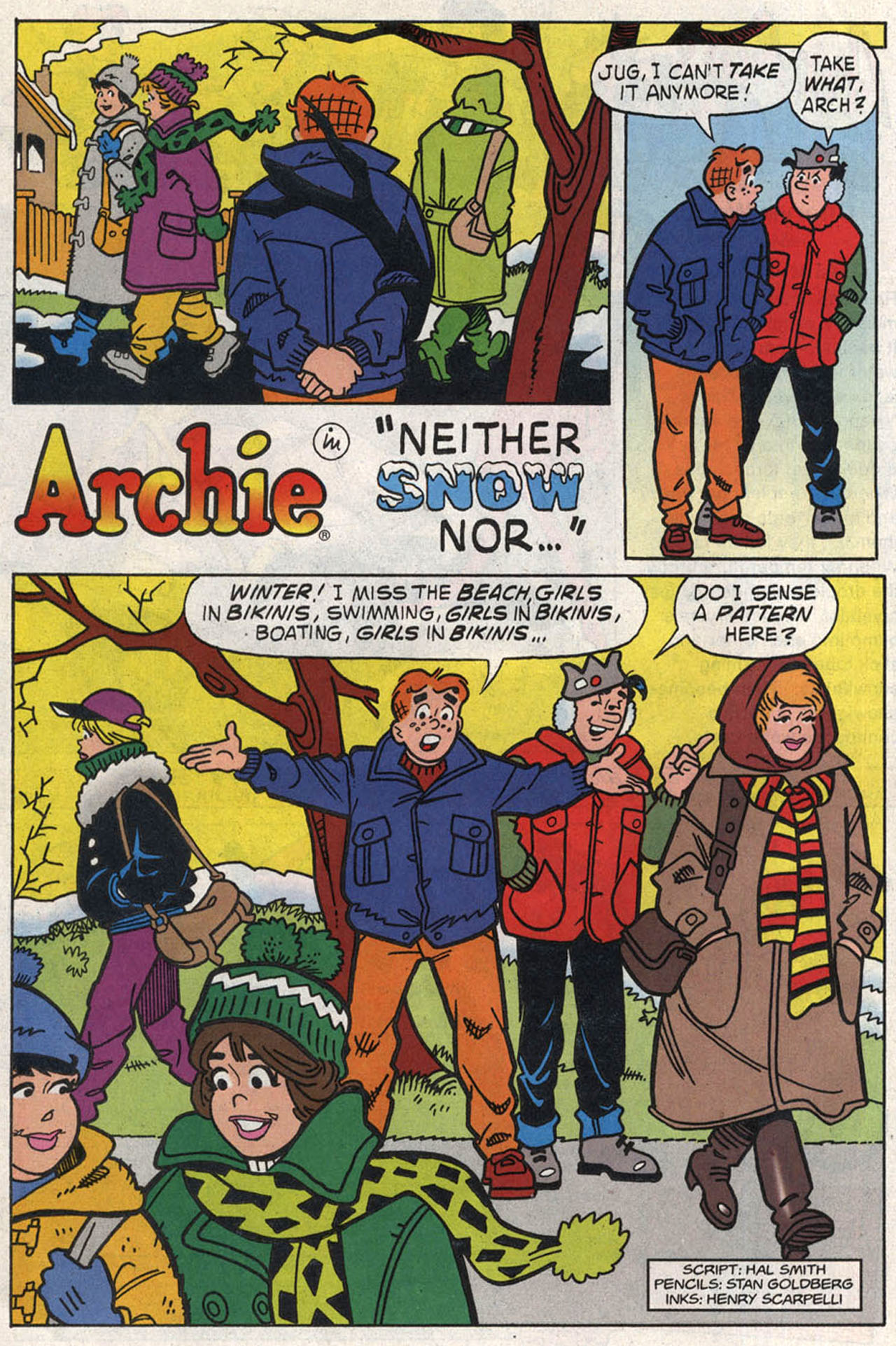 Read online Archie (1960) comic -  Issue #446 - 20