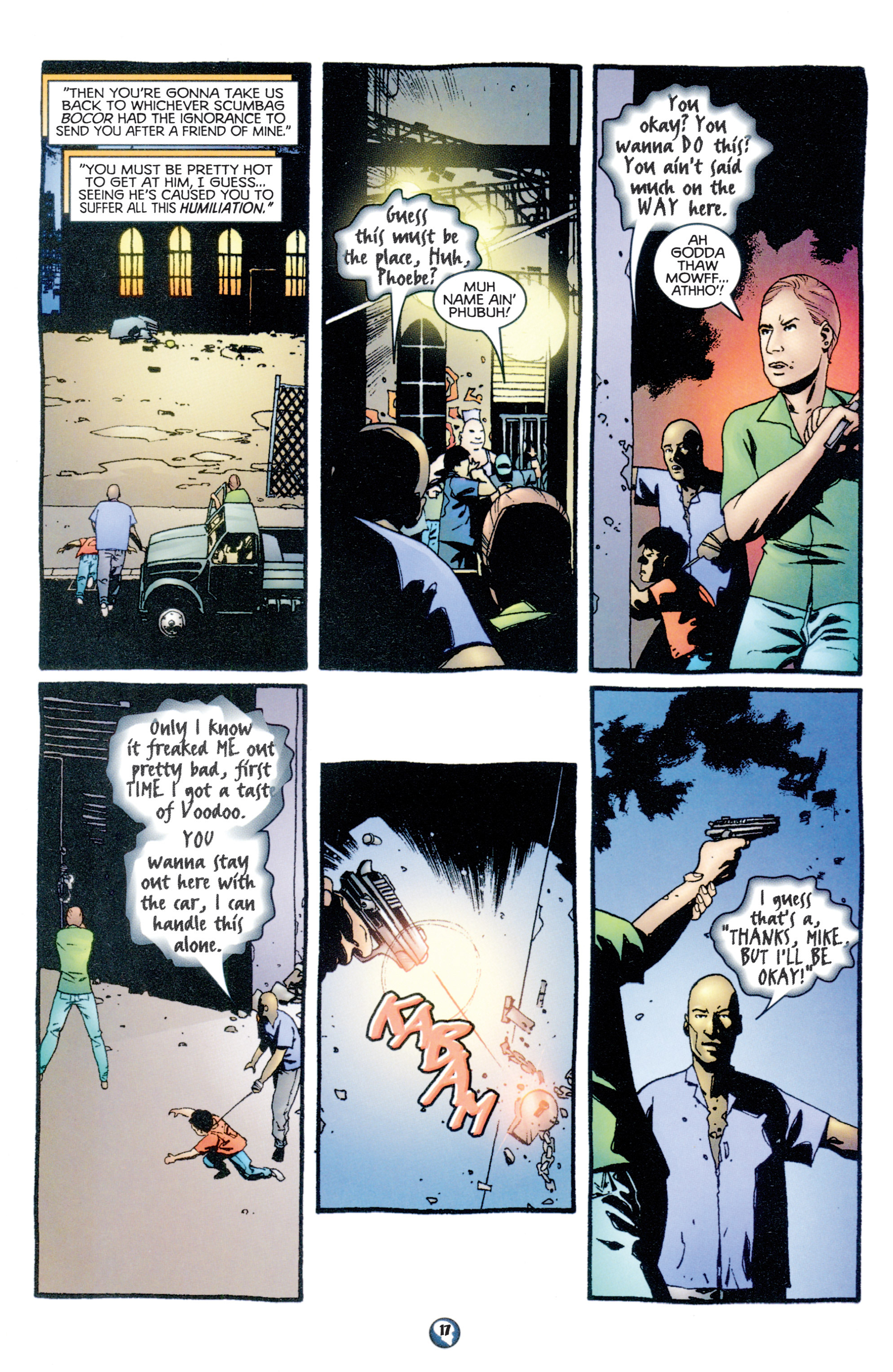 Read online Shadowman (1997) comic -  Issue #10 - 14