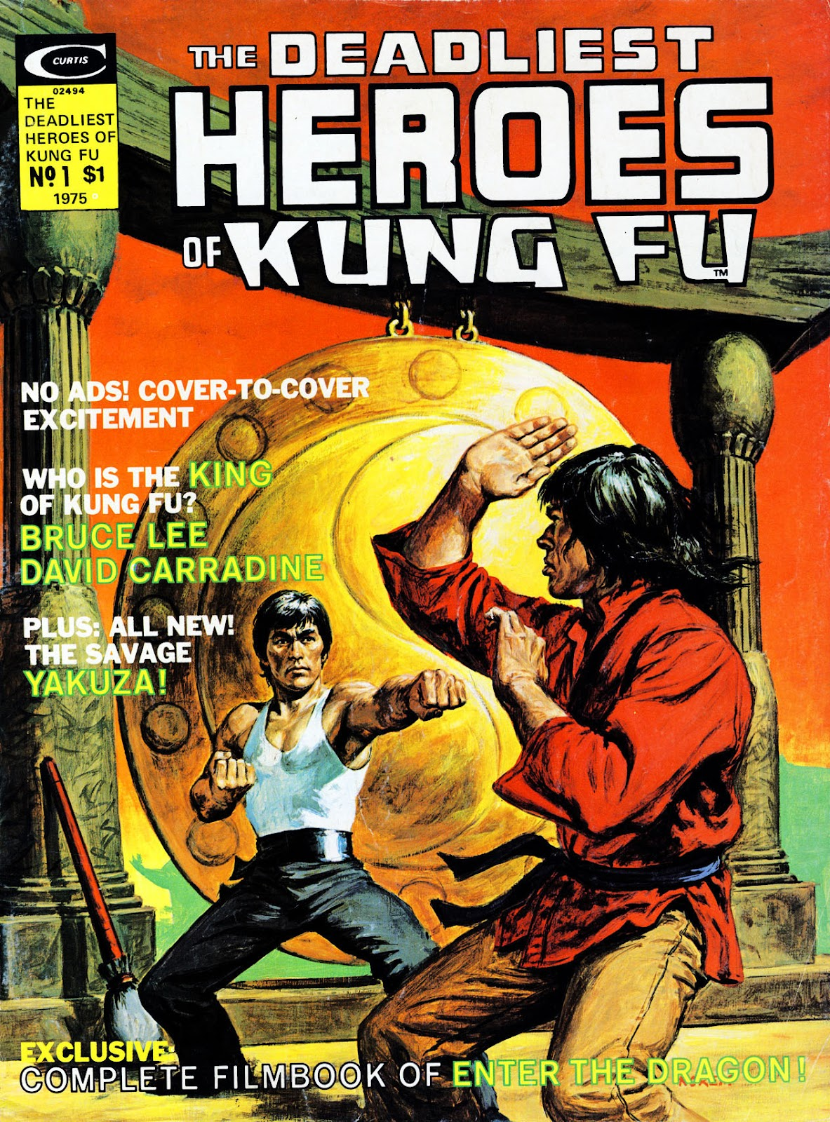 The Deadliest Heroes Of Kung Fu issue Full - Page 1