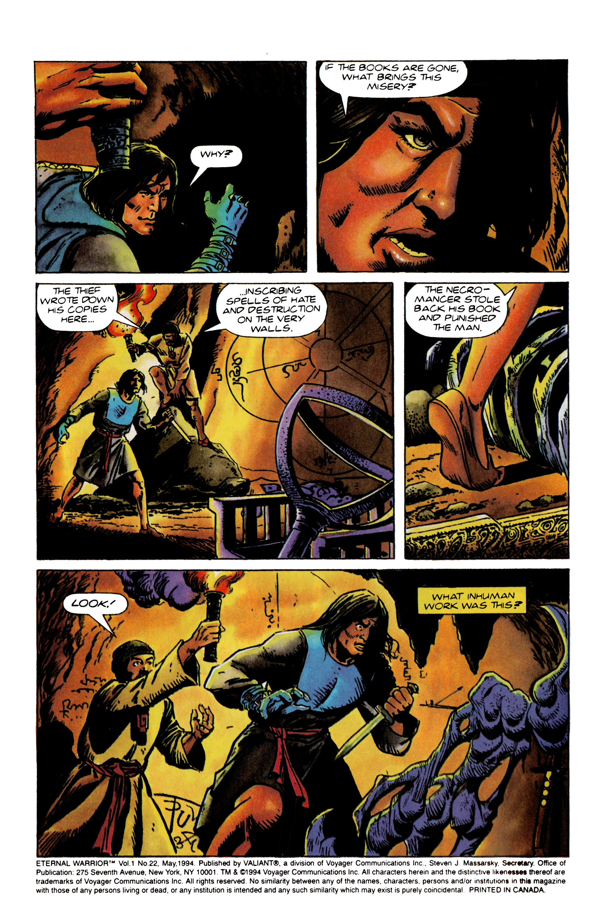 Read online Eternal Warrior (1992) comic -  Issue #22 - 3