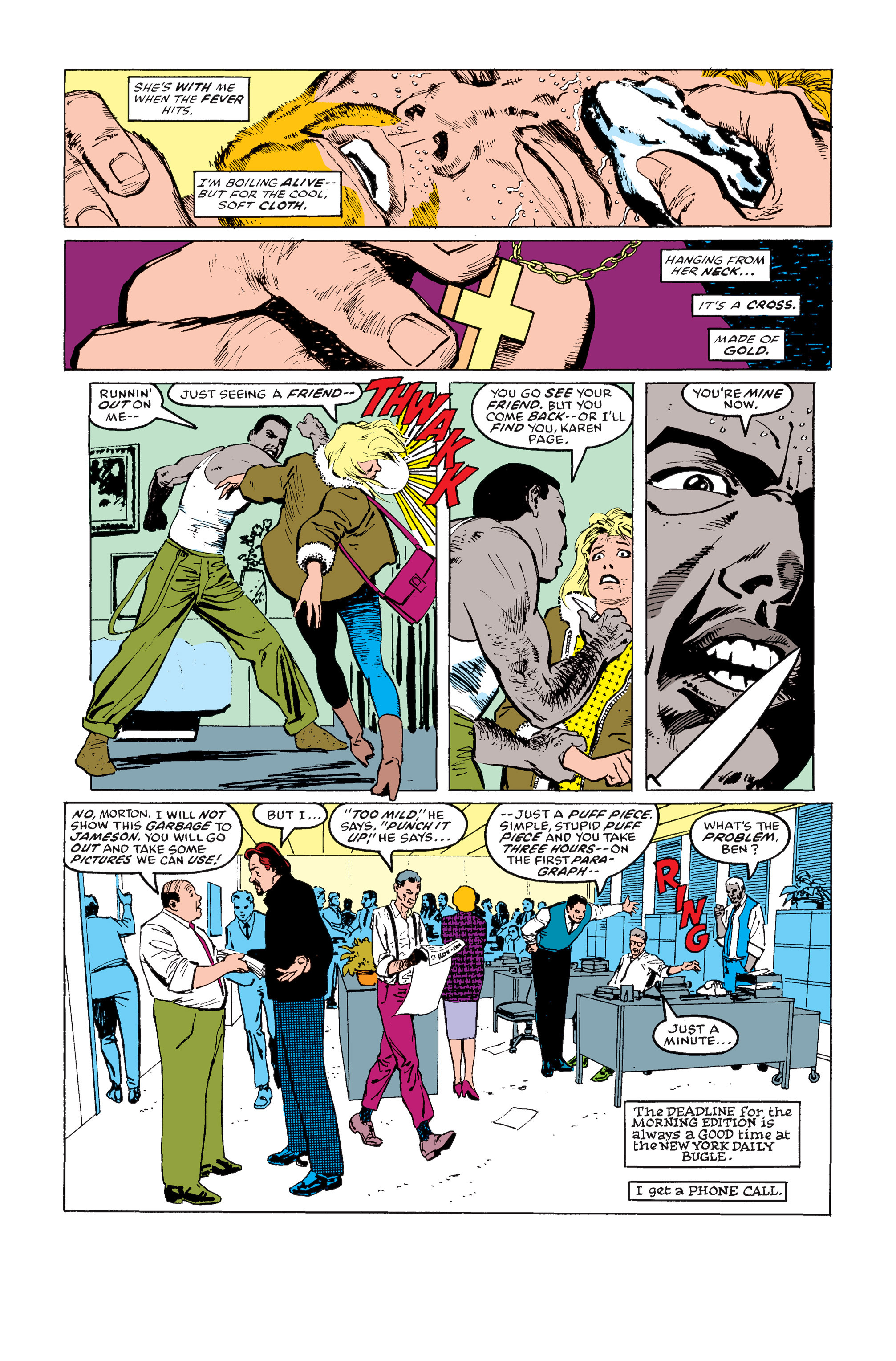 Read online Daredevil: Born Again comic -  Issue # Full - 110