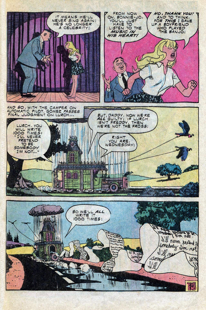 Read online Addams Family comic -  Issue #3 - 27