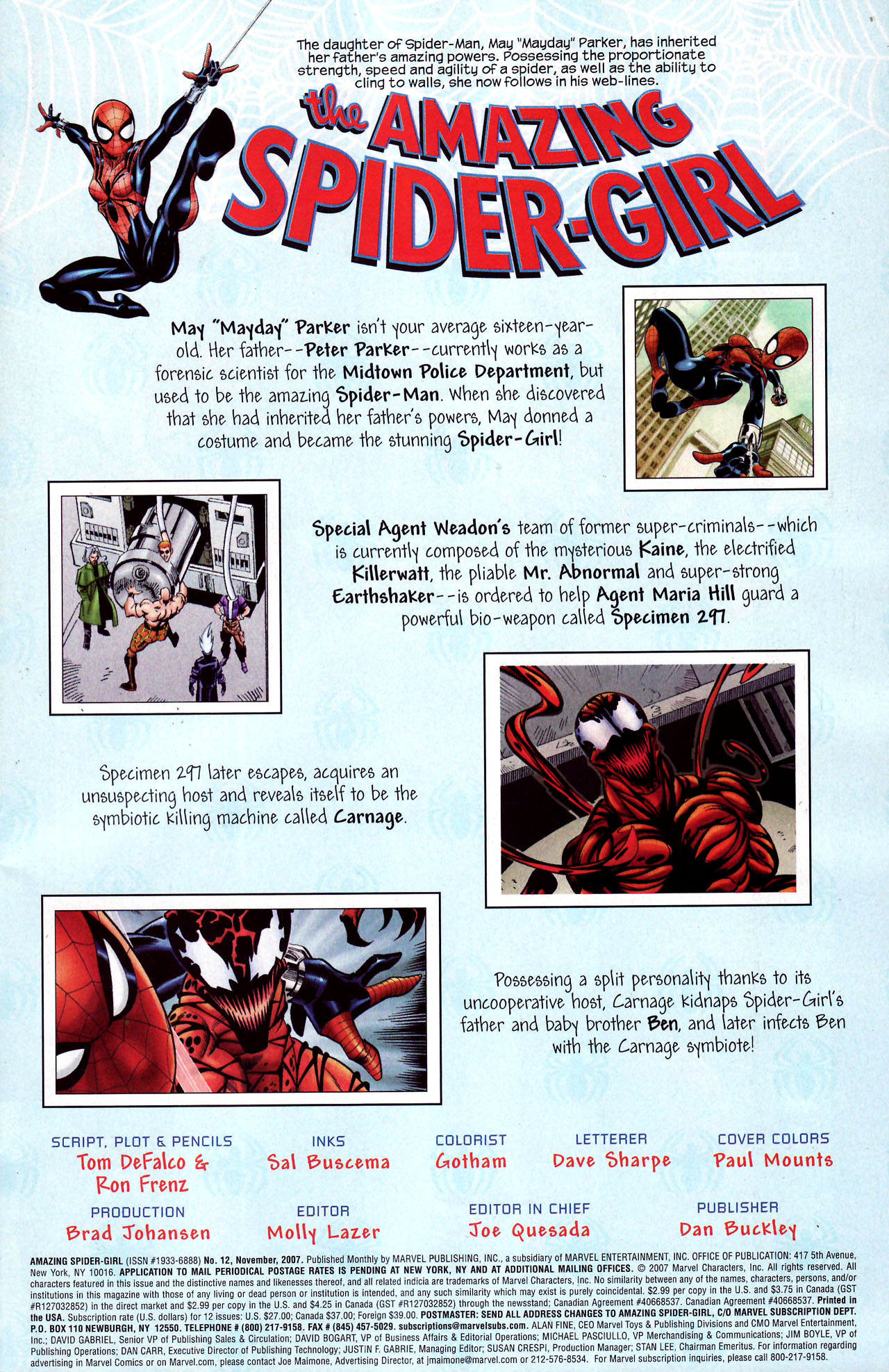 Read online Amazing Spider-Girl comic -  Issue #12 - 2