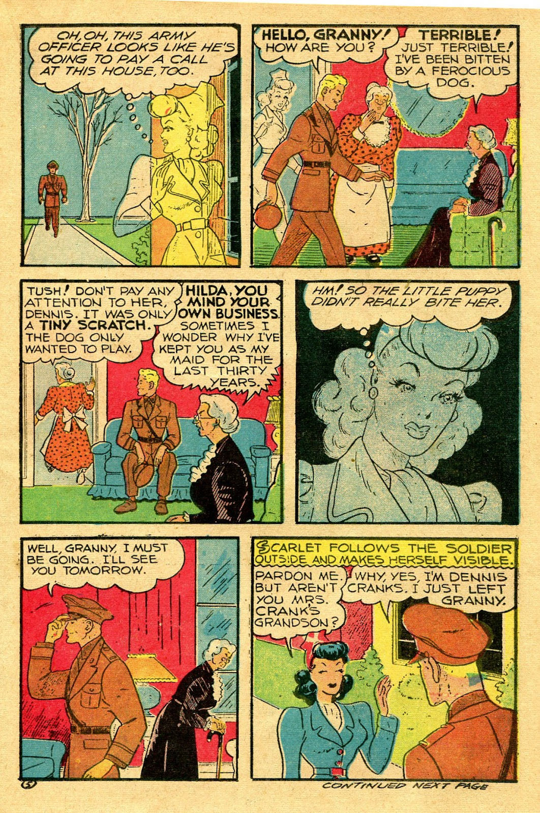 Read online Famous Funnies comic -  Issue #130 - 17