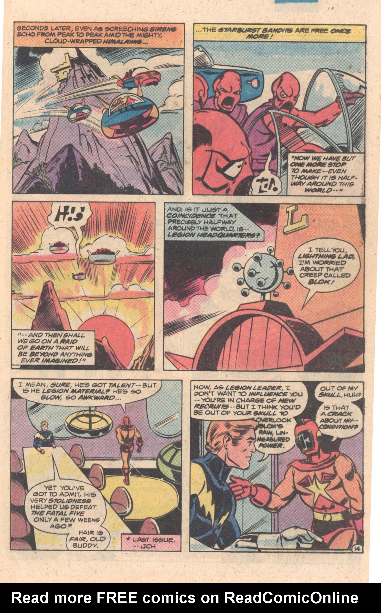 Legion of Super-Heroes (1980) 272 Page 14