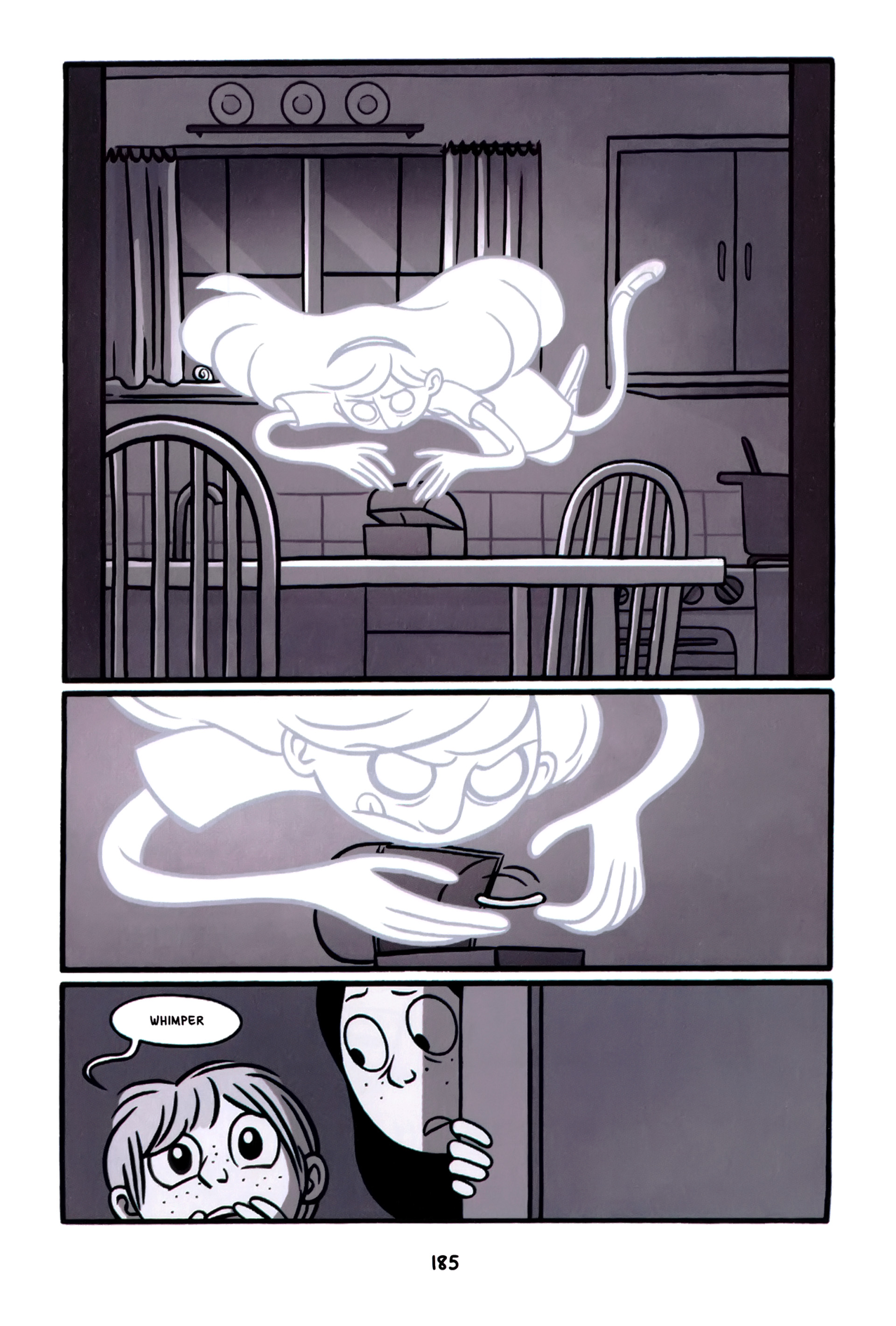 Read online Anya's Ghost comic -  Issue #1 - 186
