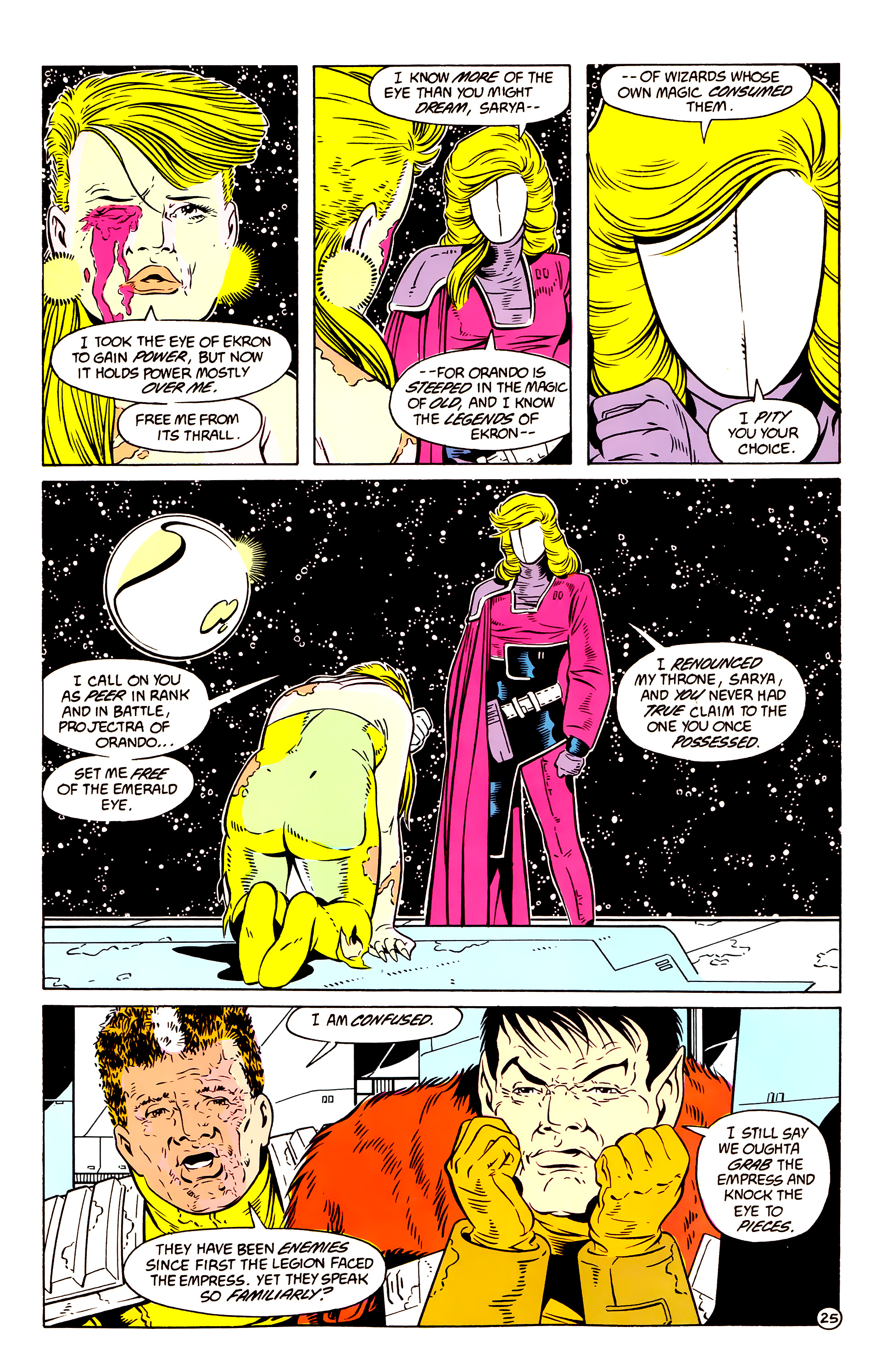 Legion of Super-Heroes (1984) 58 Page 25