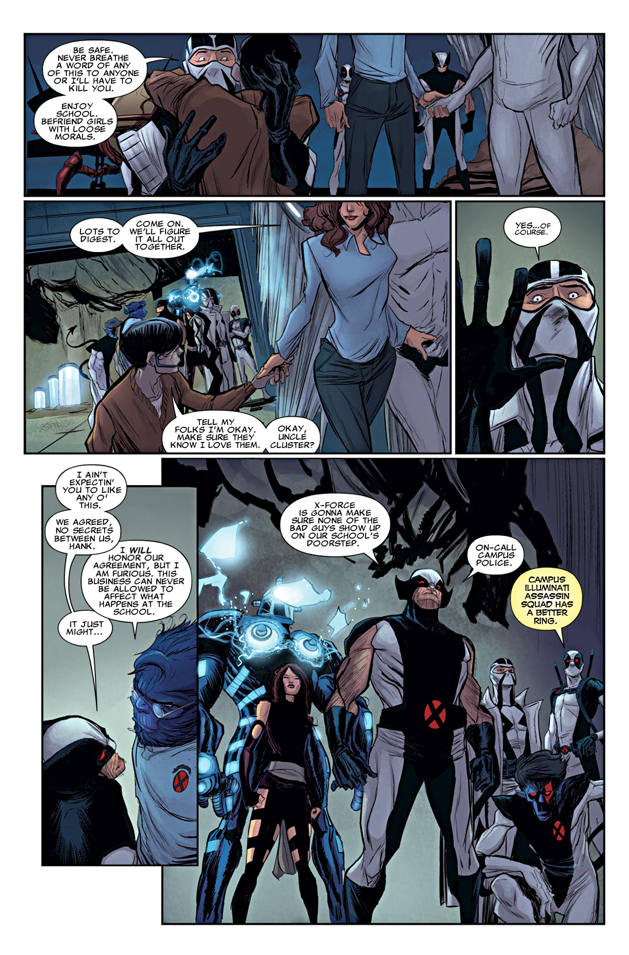 Read online Uncanny X-Force (2010) comic -  Issue #19 - 20