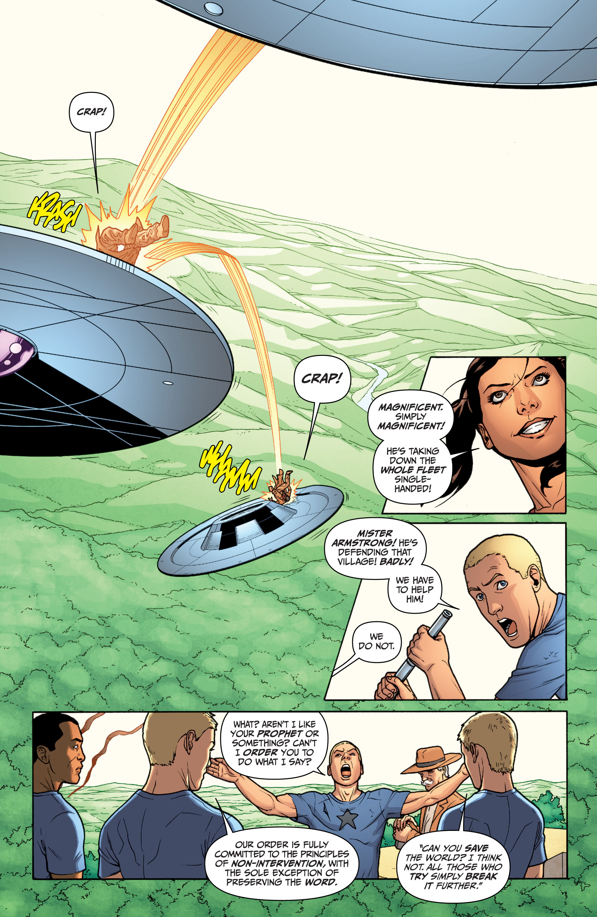 Read online Archer and Armstrong comic -  Issue #12 - 14