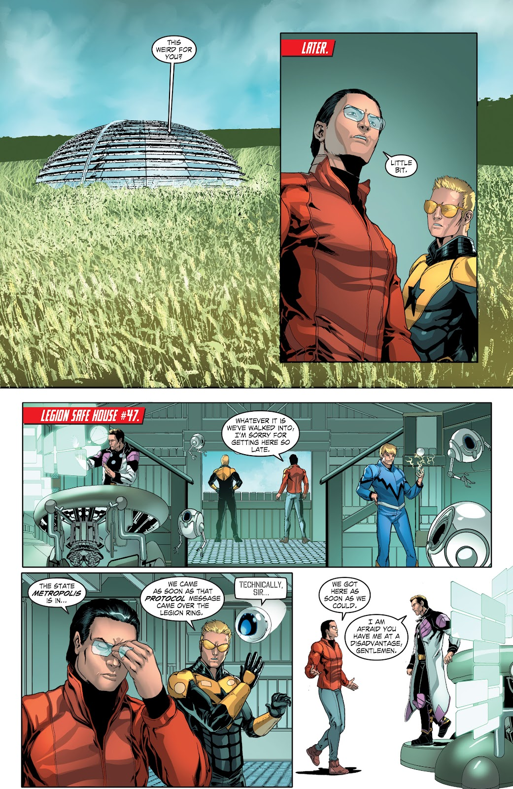 Read online Smallville Season 11 [II] comic -  Issue # TPB 4 - 28