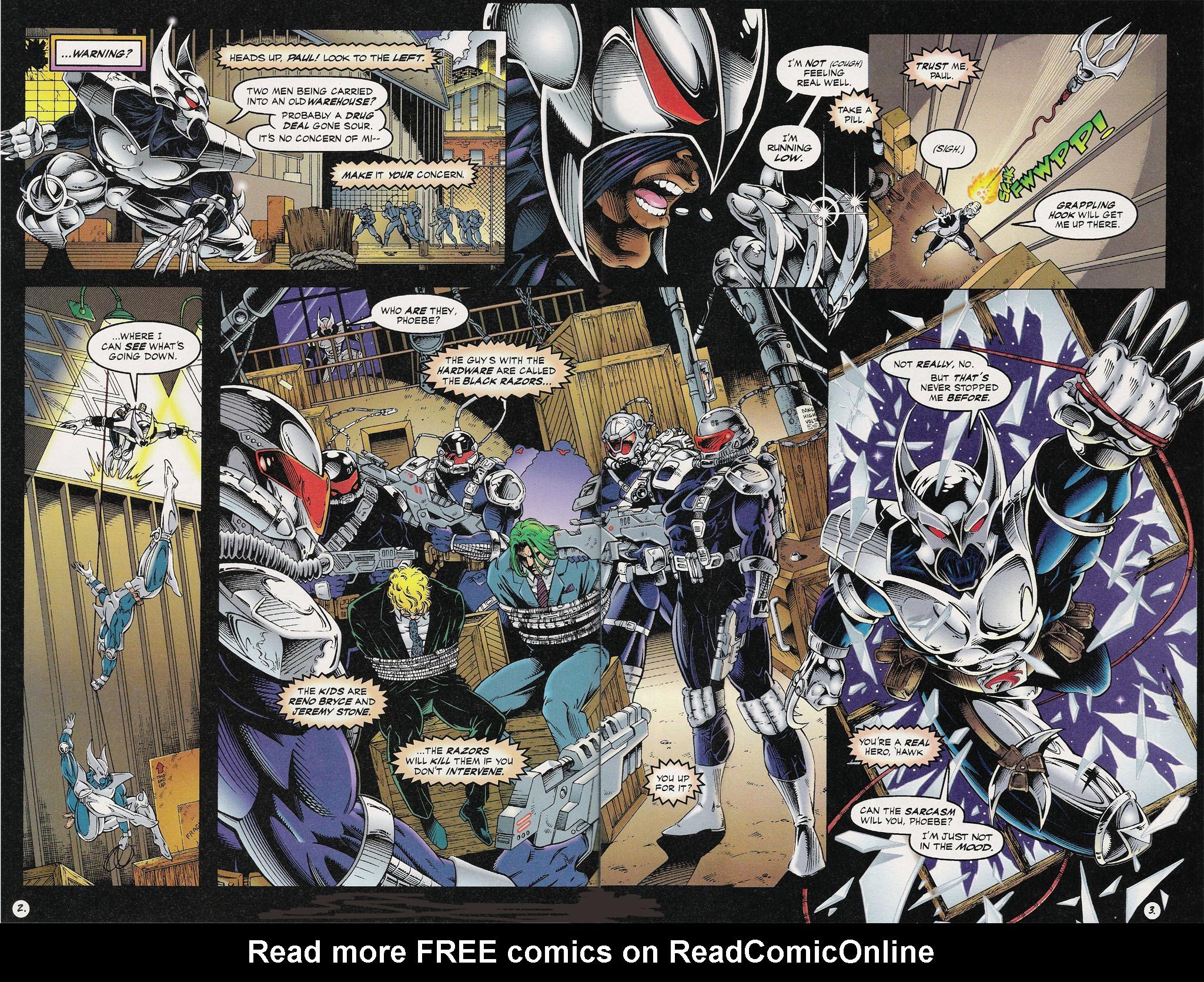 Read online ShadowHawk comic -  Issue #13 - 4